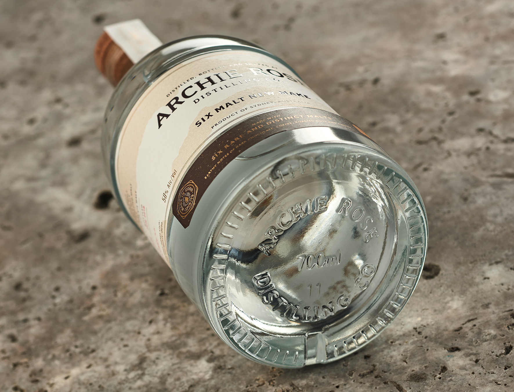 Brand Creation for Limited Released Spirit from a Sydney Distillery / World Brand & Packaging Design Society