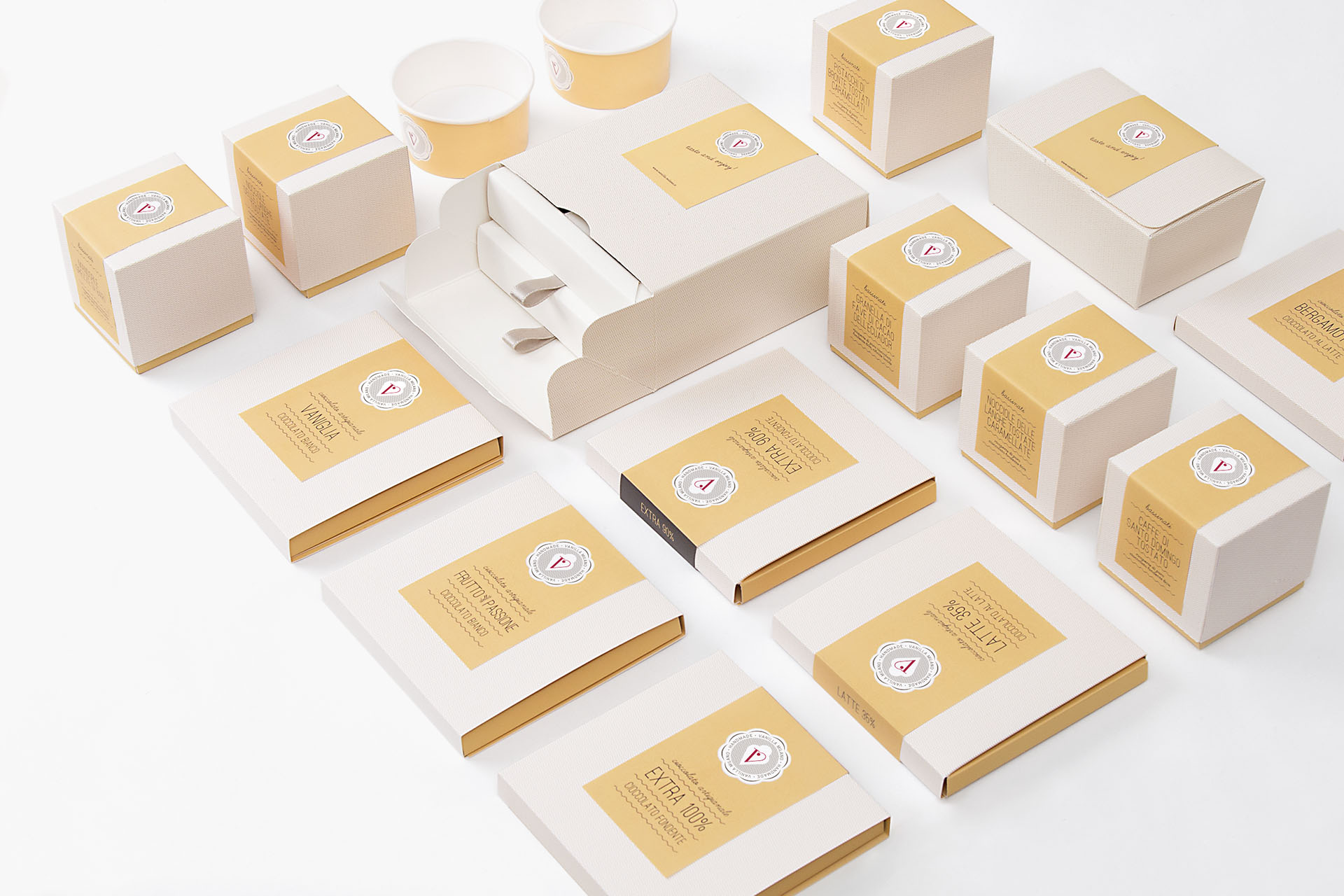 Homemade Ice-Cream Shop, Patisserie and Coffee Bar Branding and Packaging Design / World Brand & Packaging Design Society
