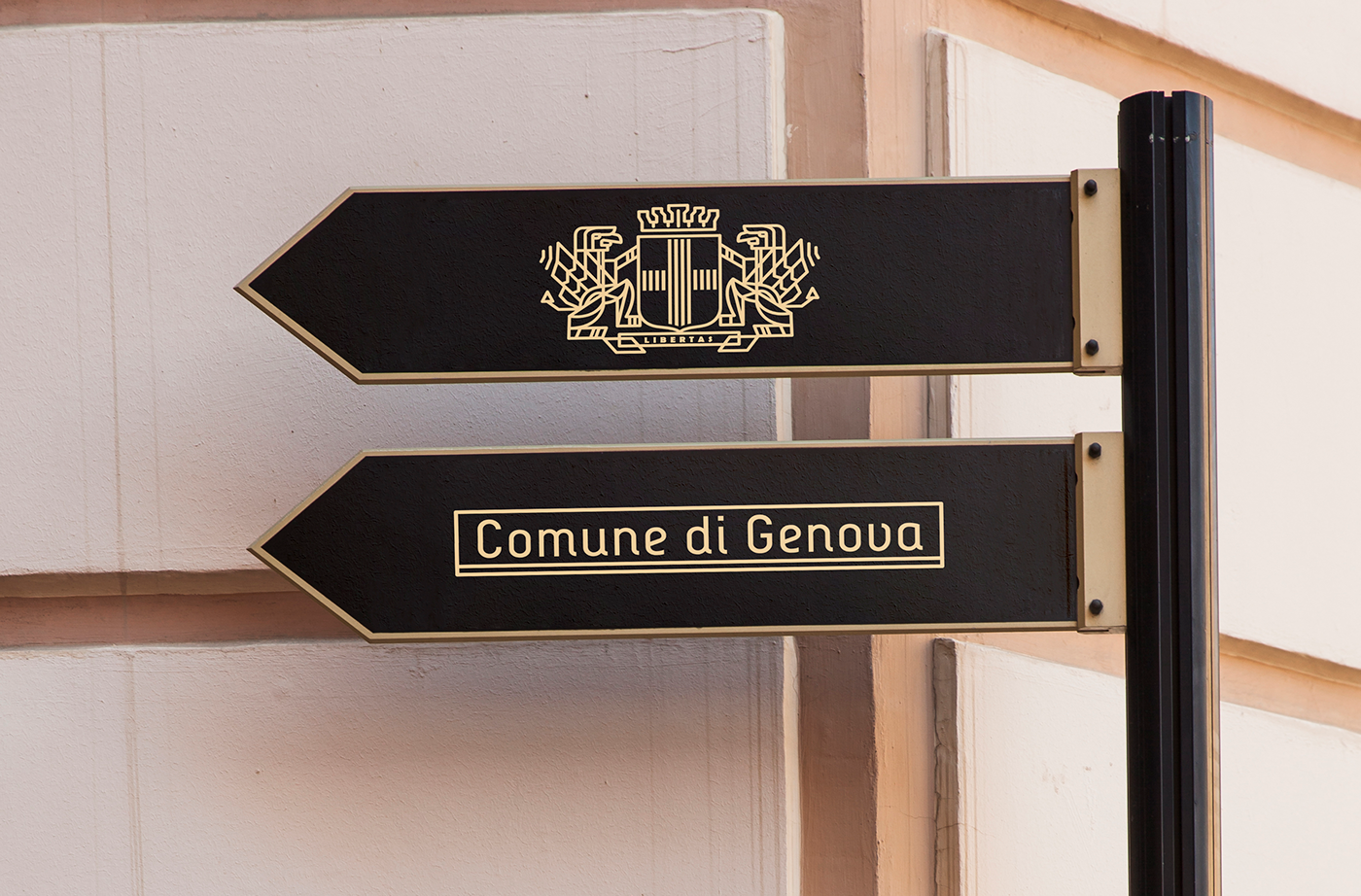 Concept Branding for City of Genova / World Brand & Packaging Design Society