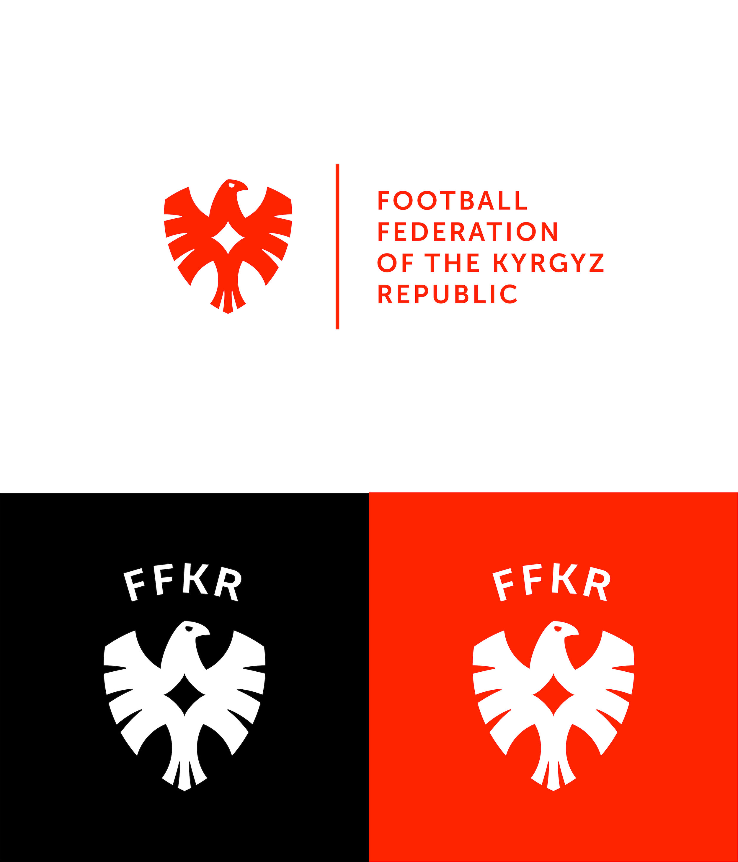 Rebranding Concept for the Football Federation of the Kyrgyz Republic / World Brand & Packaging Design Society