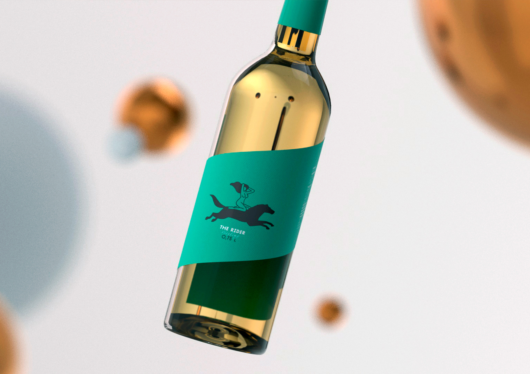 Modern, Minimalistic and Youthful Riesling Packaging Design / World Brand & Packaging Design Society