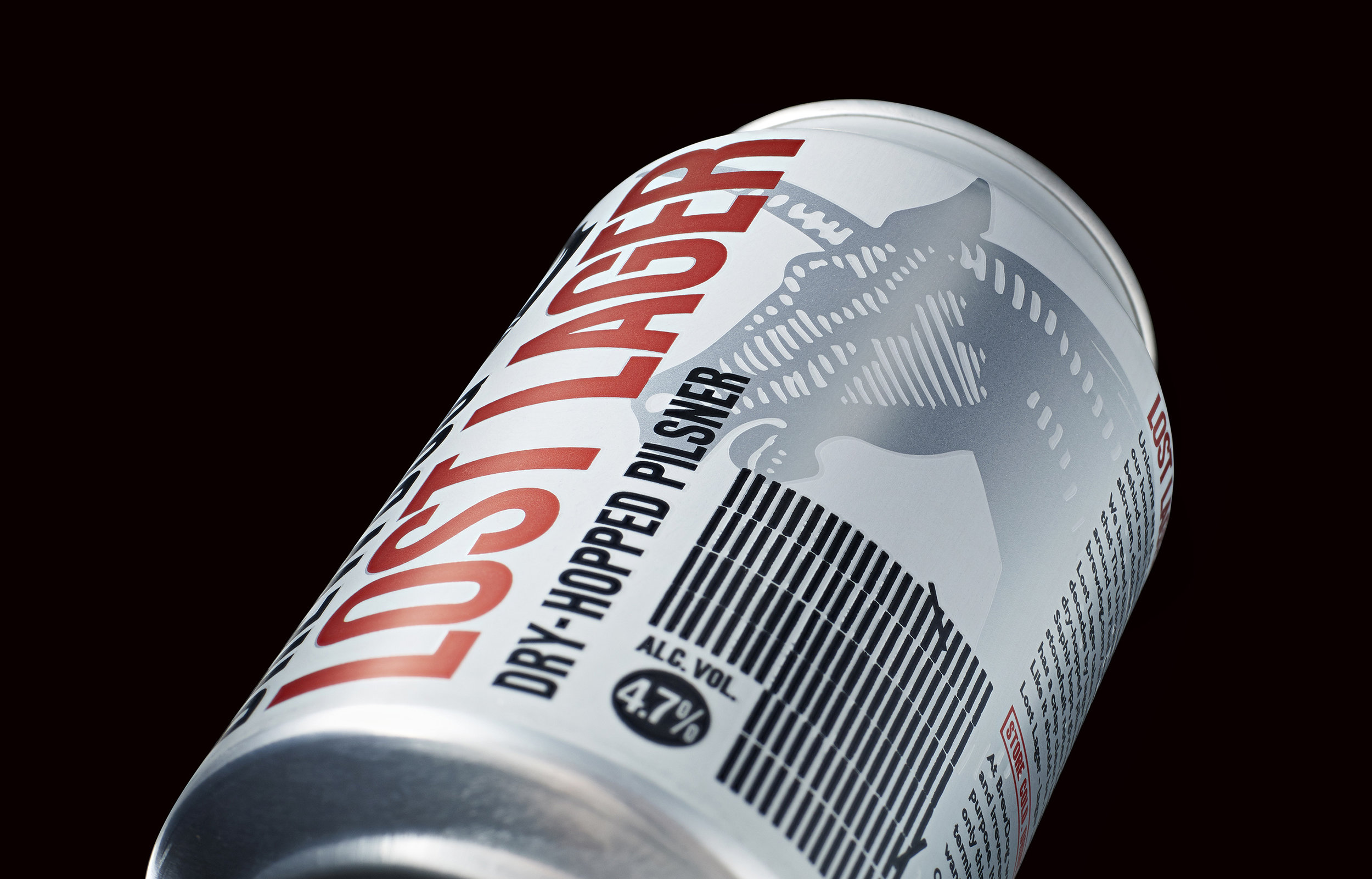 Naming and Packaging Design of BrewDog Newly Launched Lost Lager / World Brand & Packaging Design Society