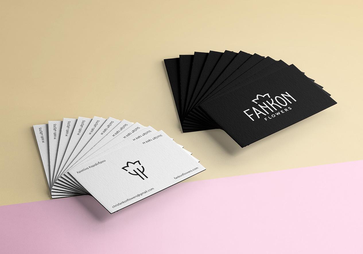 Corporate Identity Design for Greek Florist / World Brand & Packaging Design Society