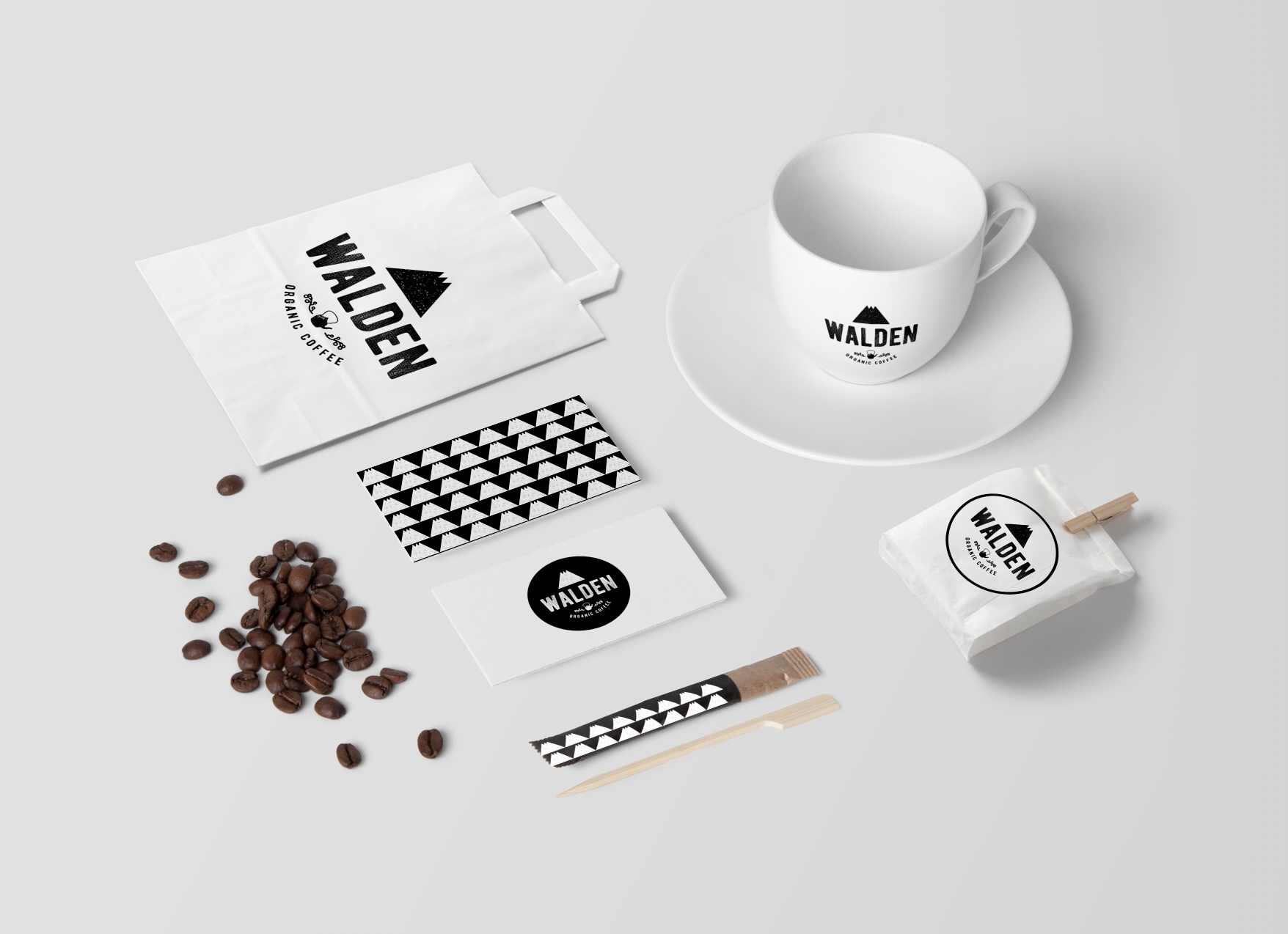 Brand and Packaging Design of Organic Coffee Brand from Costa Rica / World Brand & Packaging Design Society