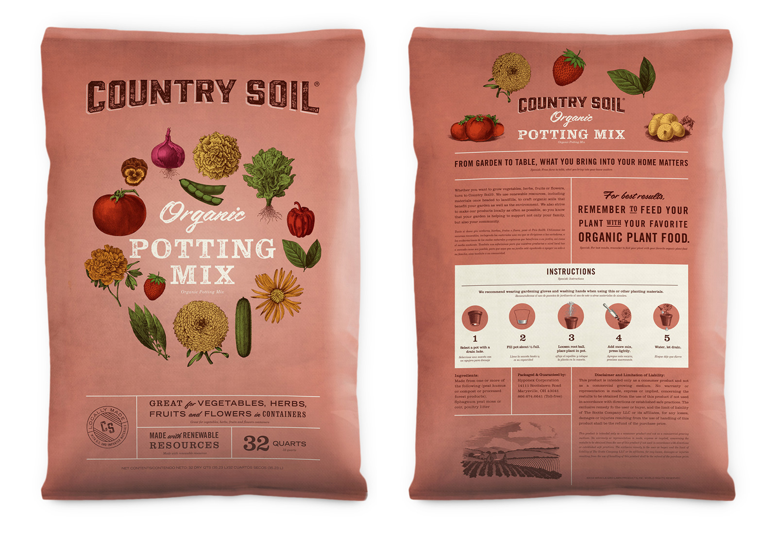 Agency Concept for Mid-tier Soil Packaging that Evokes Midwestern Values / World Brand & Packaging Design Society