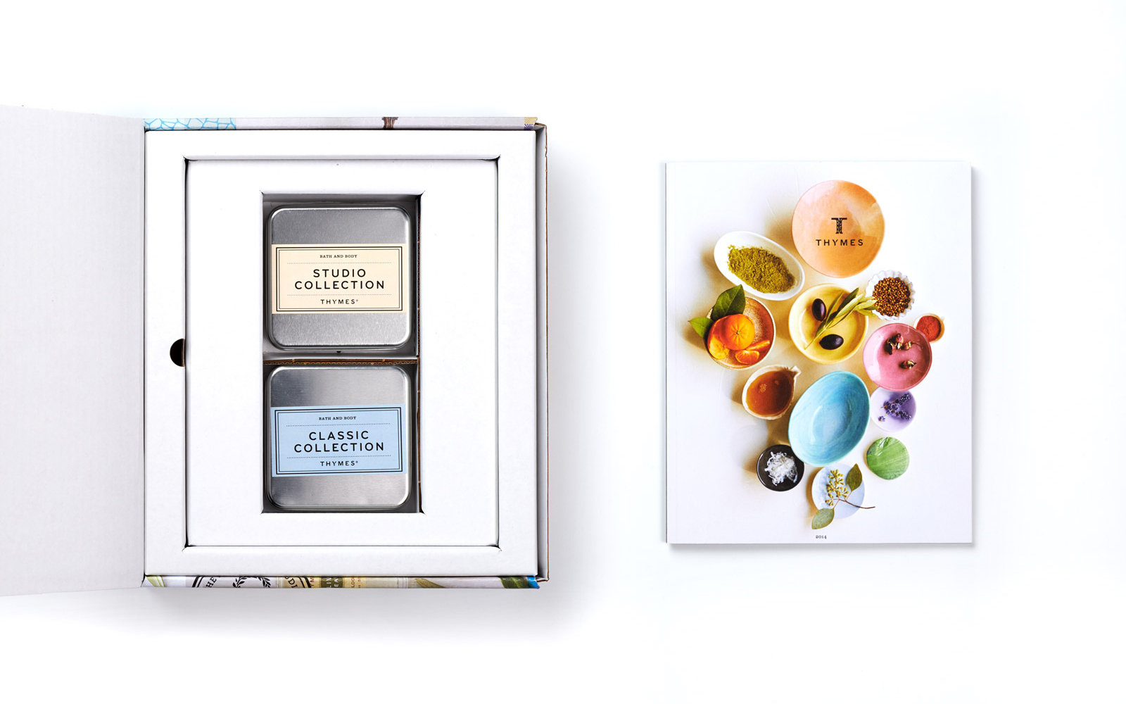Prospecting Kit Helps Thymes Fragrance Sales Staff Engage Retailers / World Brand & Packaging Design Society