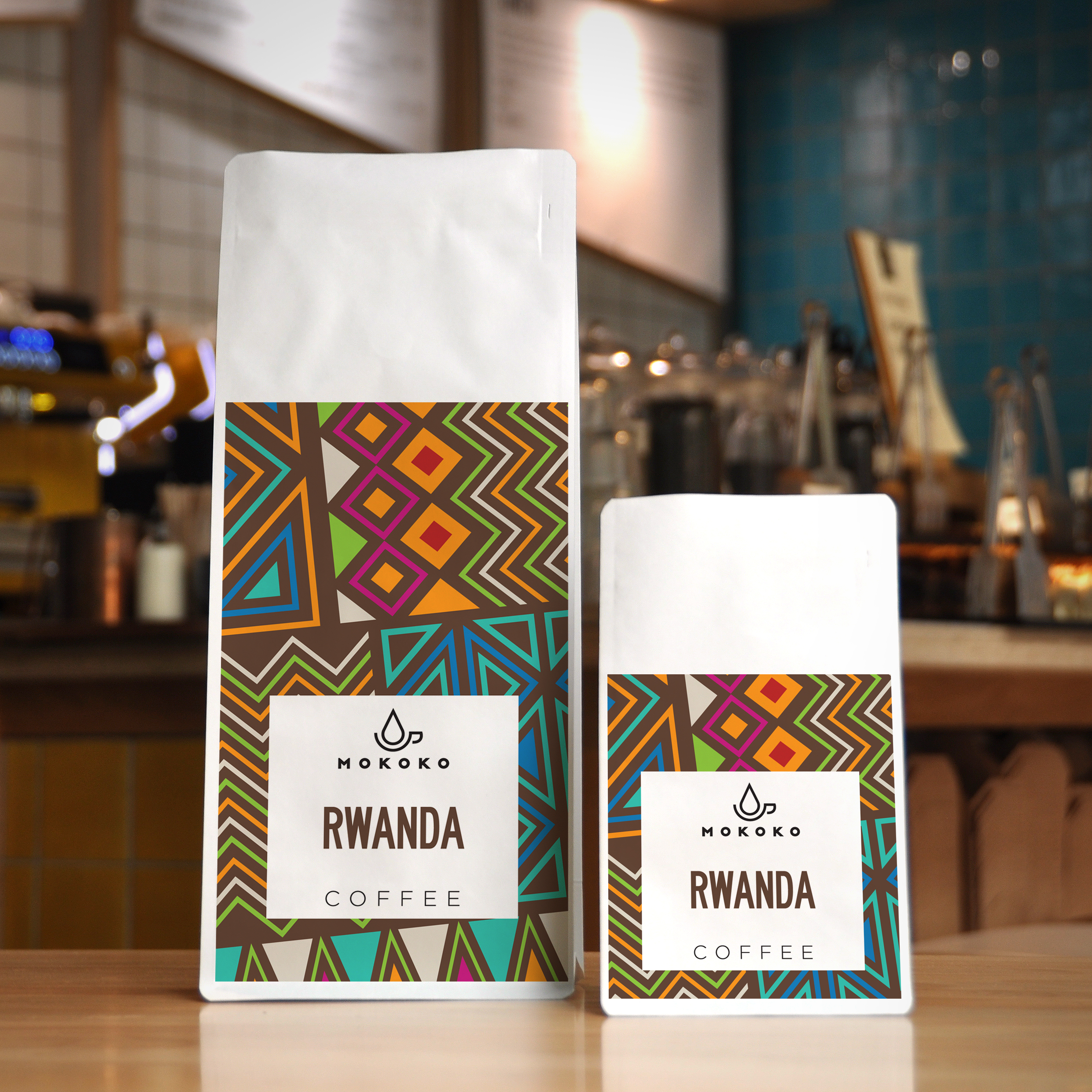 Coffee Packaging Design for Independent Coffee Shop and Bakery based in the UK / World Brand & Packaging Design Society