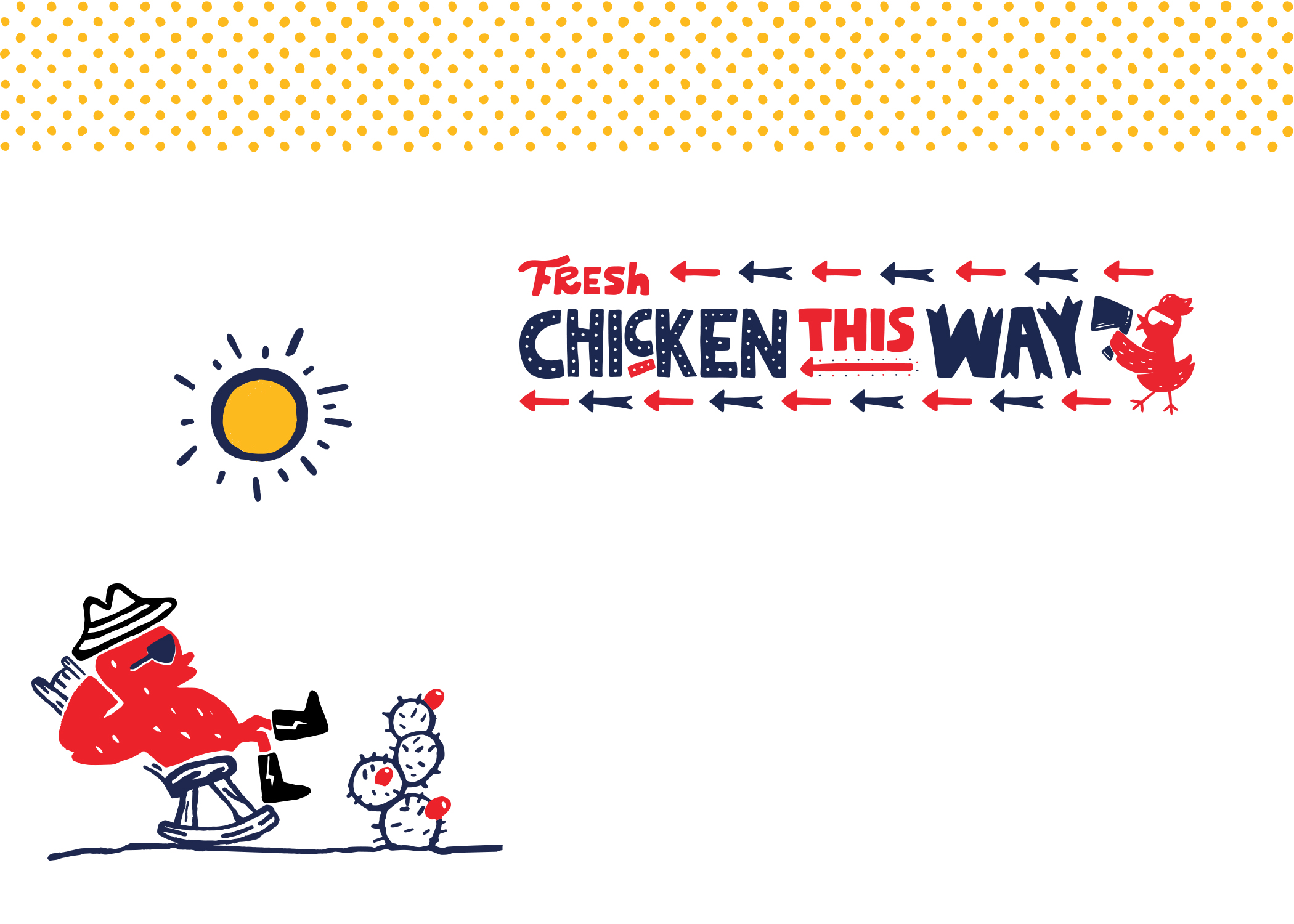 Rockin' and Sassy Branding for Chicken Take Away in the US / World Brand & Packaging Design Society