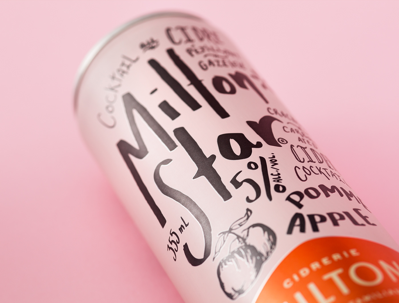 Apple or Grapefruit Artisan Sparkling Ciders / World Brand & Packaging Design Society
