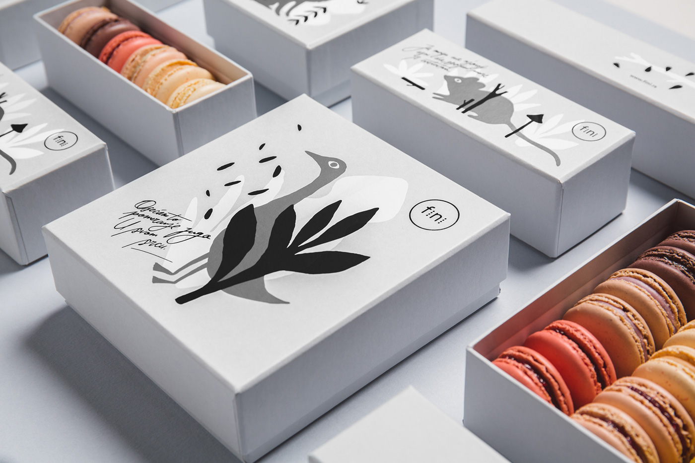 Family Serbian Famous Pâtisserie Inspired by the French Traditions / World Brand & Packaging Design Society