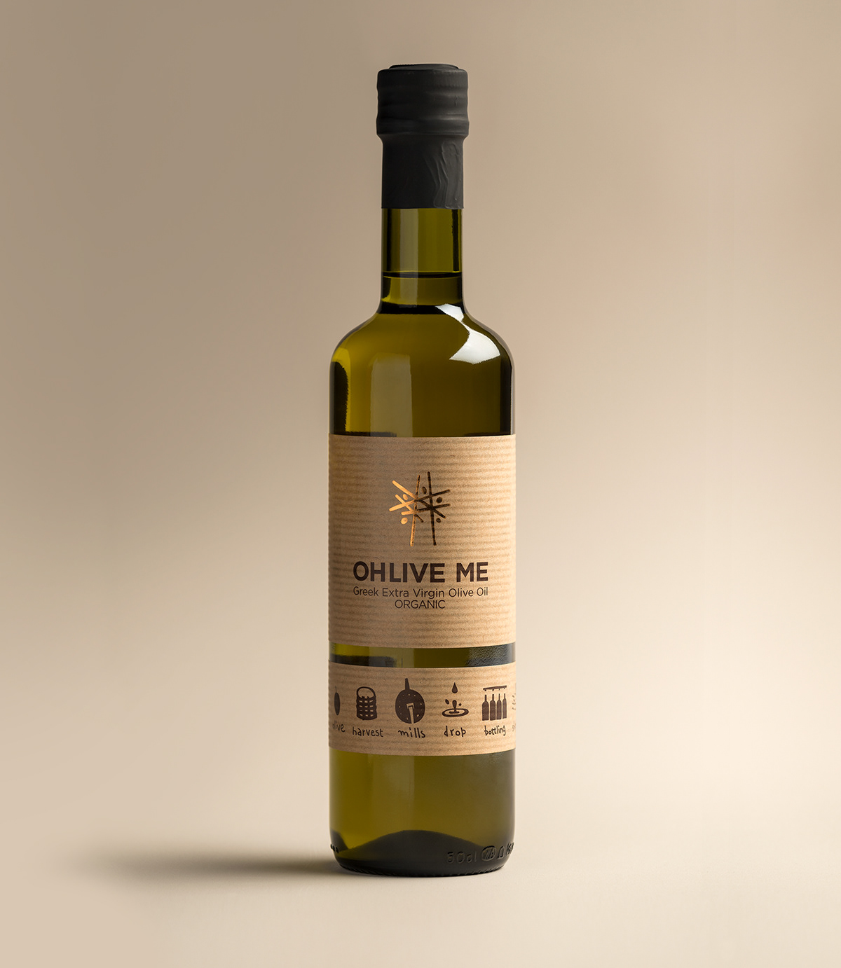 Brand and Packaging Design for Organic Farmed Cretan Extra Virgin Olive Oil / World Brand & Packaging Design Society
