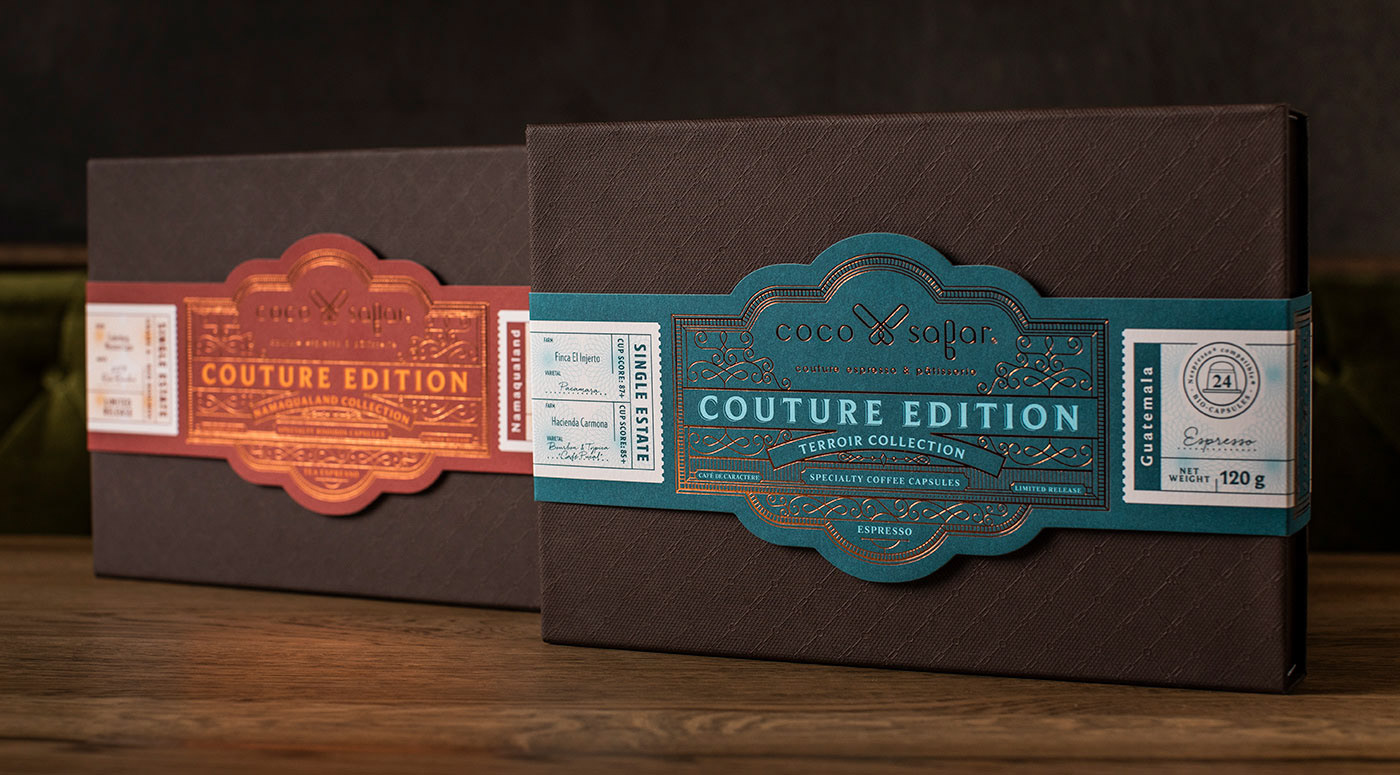 Luxury Coffee, Patisserie and Café Brand from South Africa / World Brand & Packaging Design Society