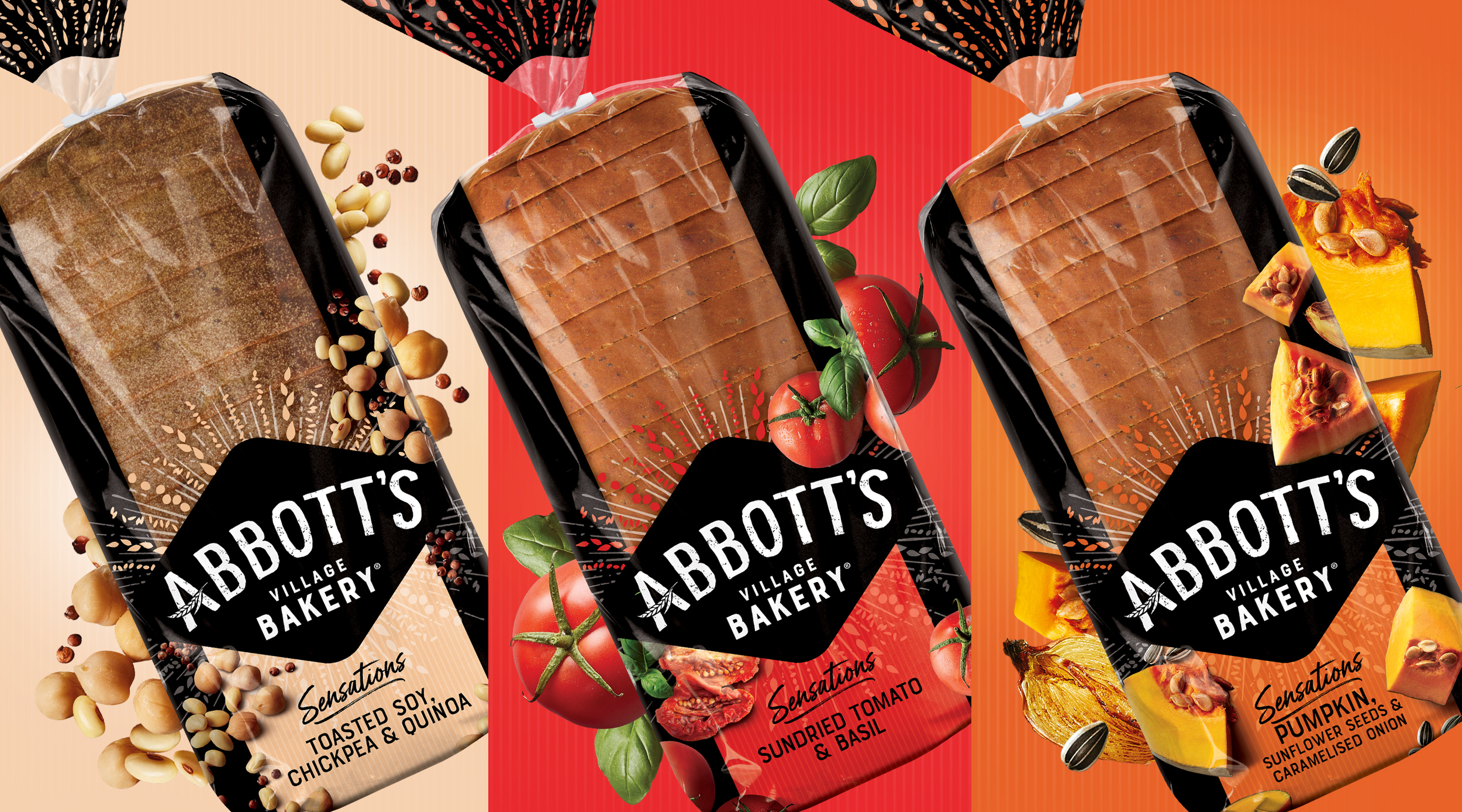 Abbott's Village Bakery Redesign for Premium Supermarket Category, Australia / World Brand & Packaging Design Society