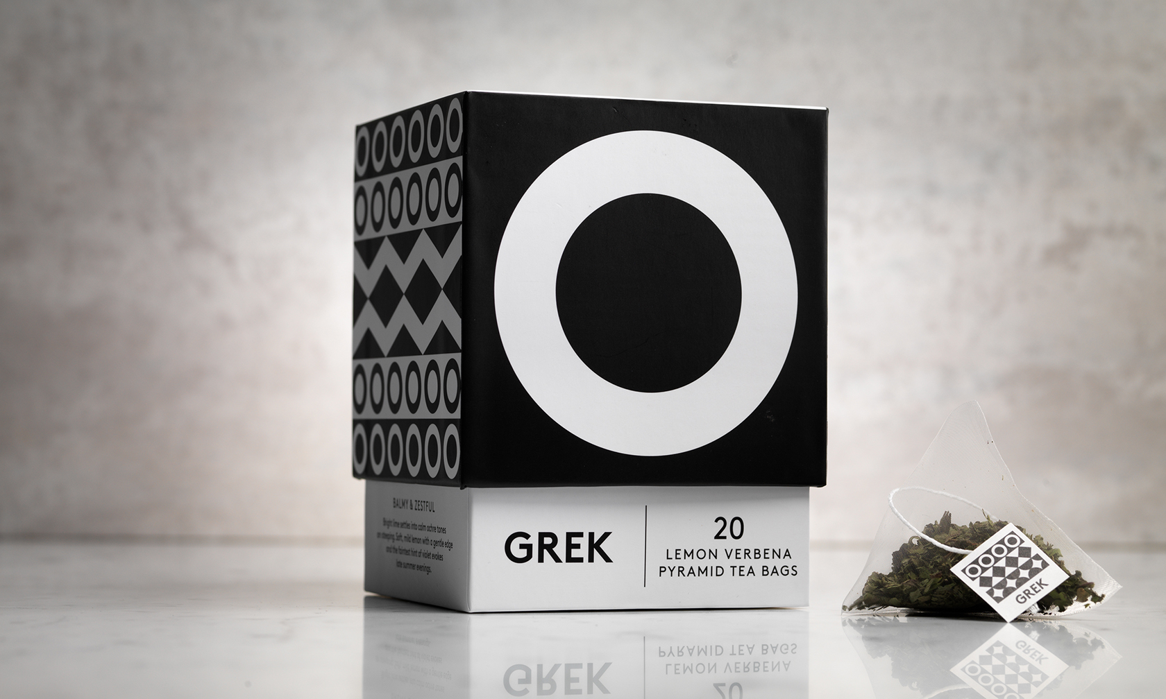 Branding and Packaging Design Imported High Quality Herbs from Greece for Tea Brand GREK / World Brand & Packaging Design Society