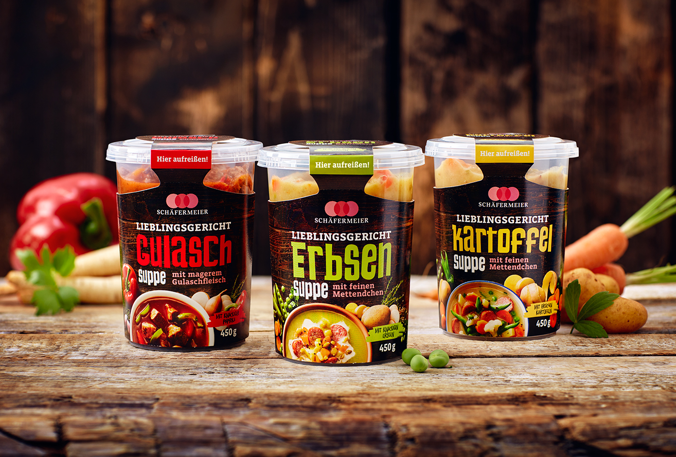 Brand Creation and Packaging Design for Schäfermeier Germany Soups / World Brand Design Society