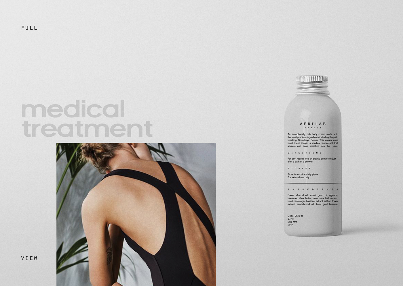 Package Design for Cosmetic Brand Aerilab / World Brand & Packaging Design Society