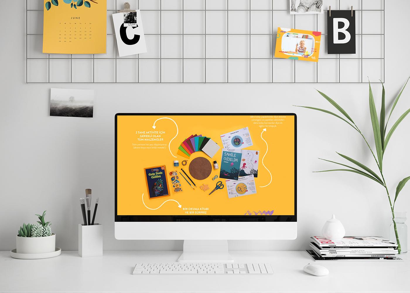 Brand Identity for Boni'nin Kutusu Activity Box / World Brand & Packaging Design Society