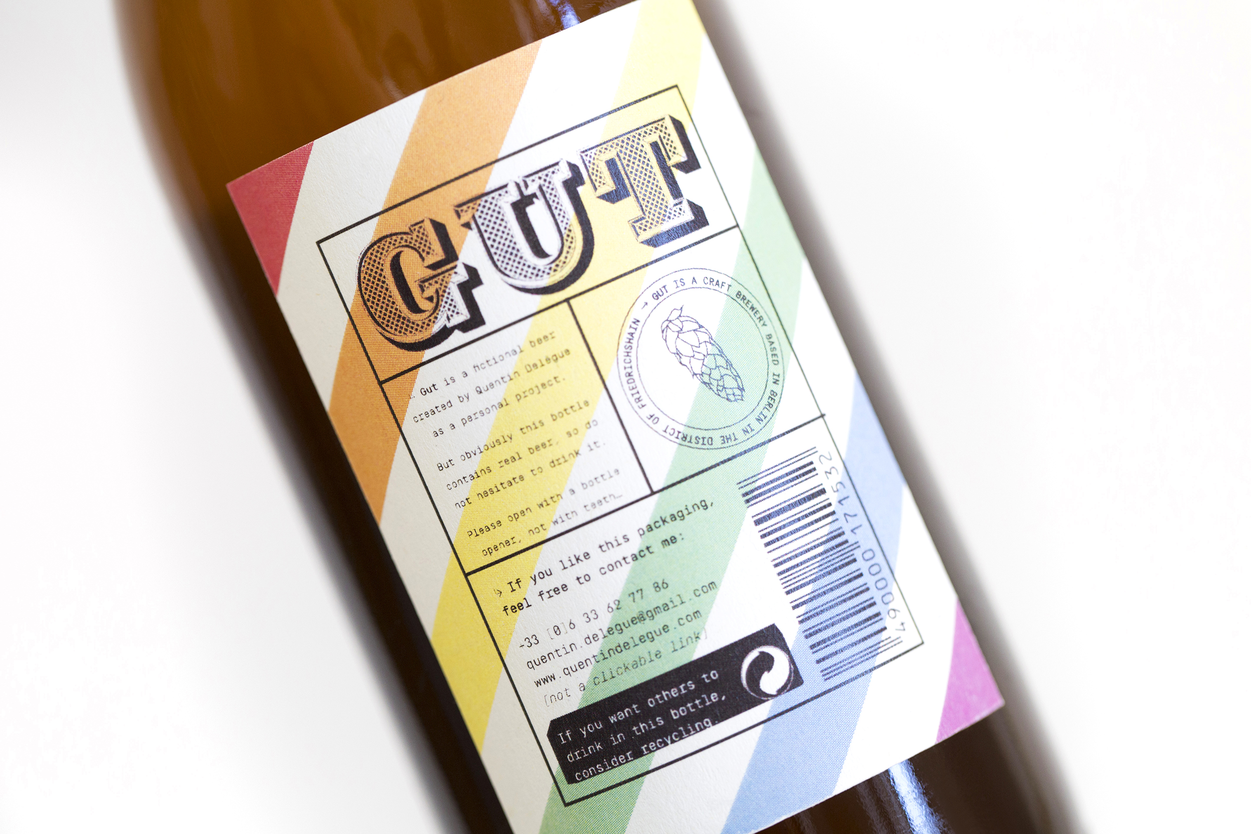 Packaging Design For An Original Beer From Berlin / World Brand & Packaging Design Society
