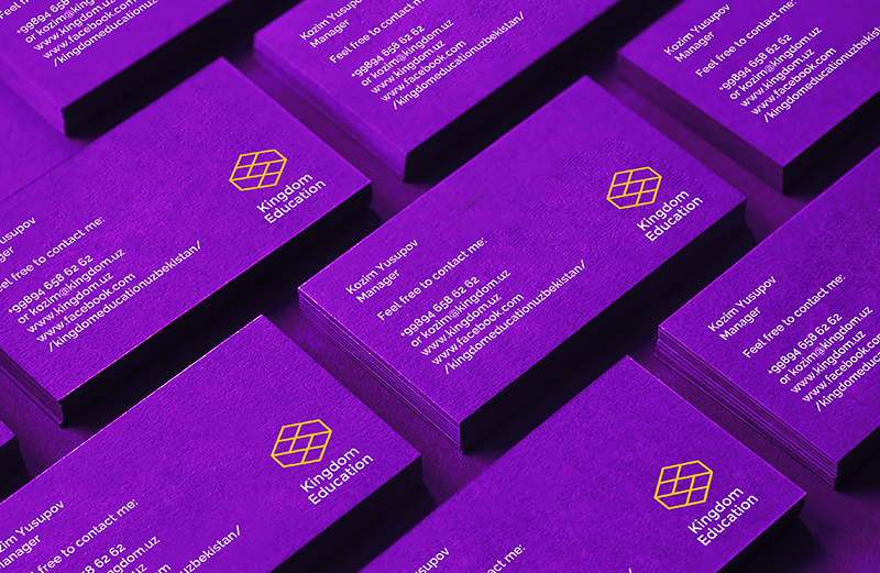 """Creating Corporate Identity for """"Kingdom Education"""" English Learning Innovation Center  / World Brand and Packaging Design Society"""