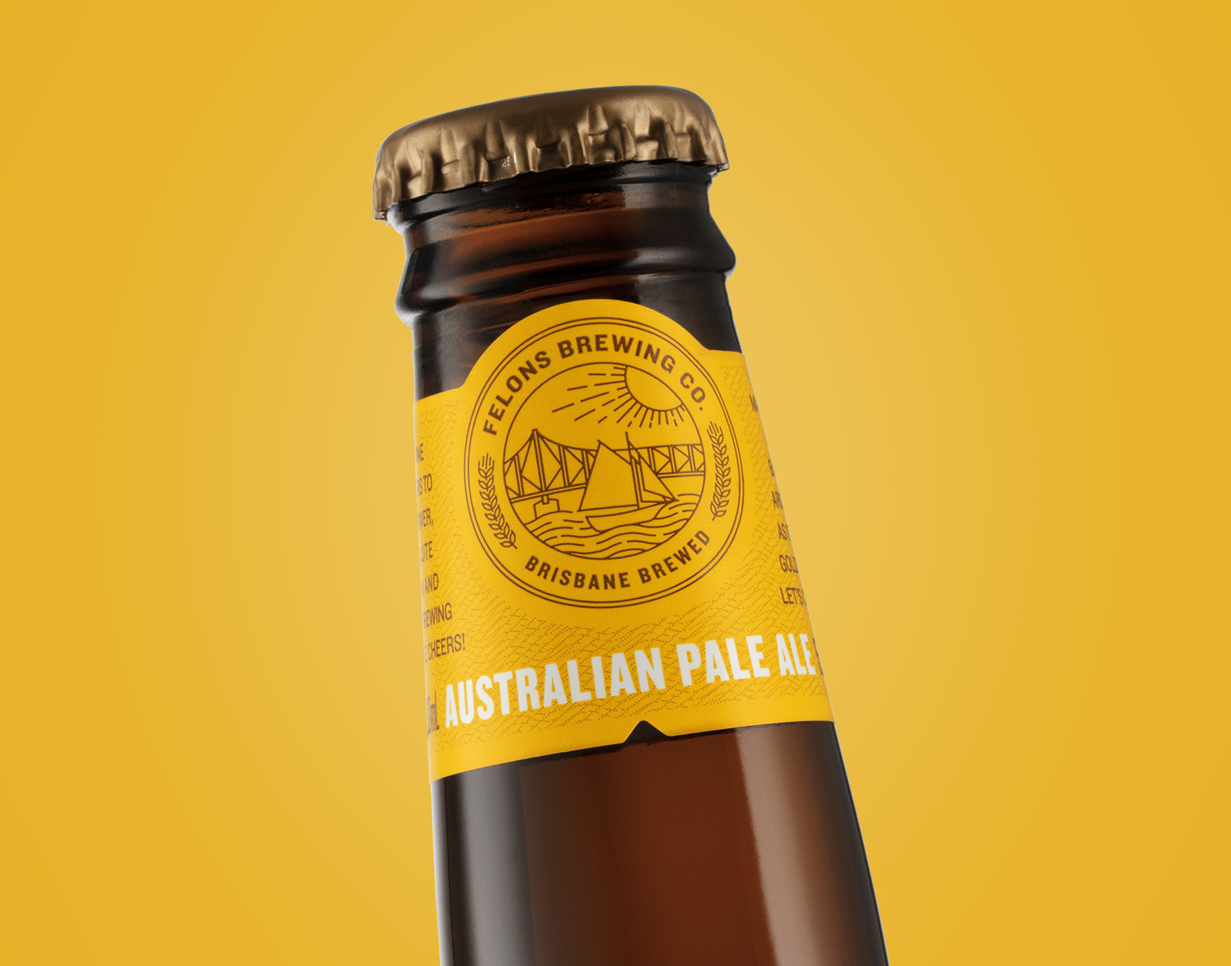 Risbane Brewed Under The Story Bridge / World Brand and Packaging Design Society