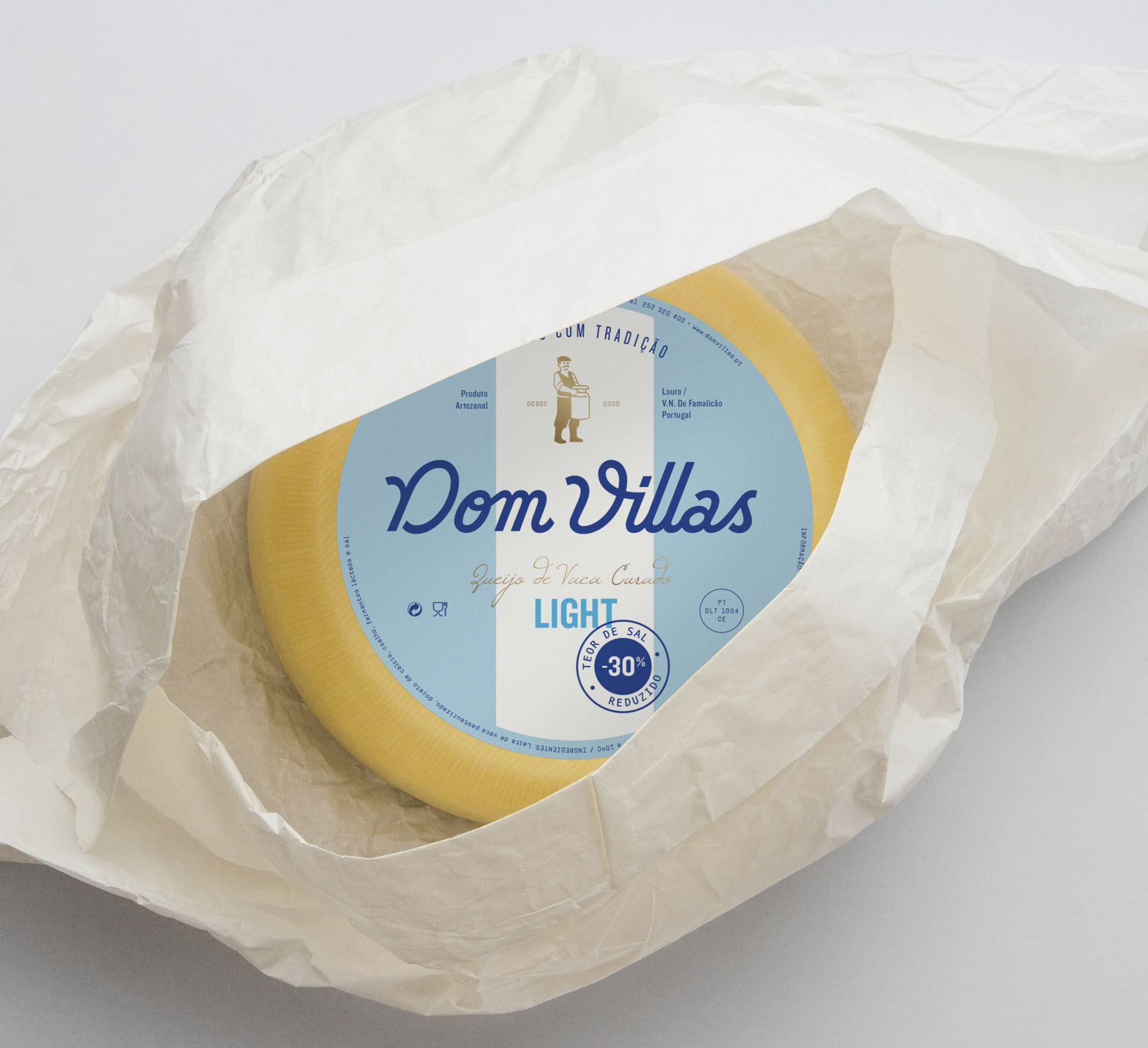 Identity and Packaging Redesign Concept for a Portuguese Cheese / World Brand and Packaging Design Society