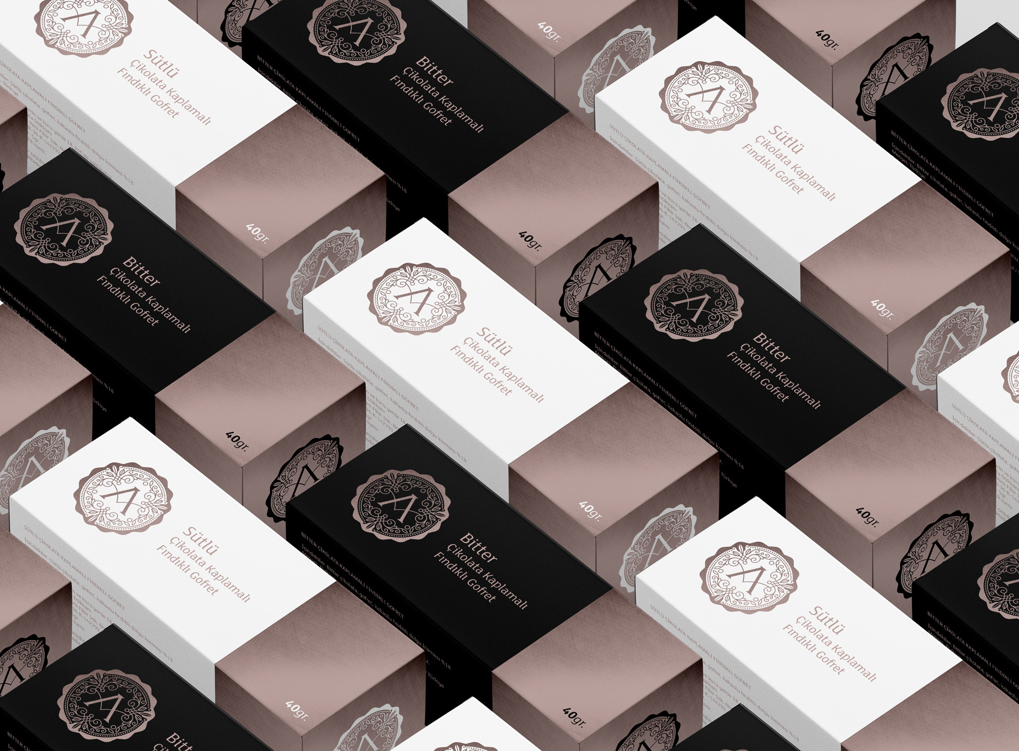 Asuman Chocolate Wafer Packaging Design / World Brand and Packaging Design Society