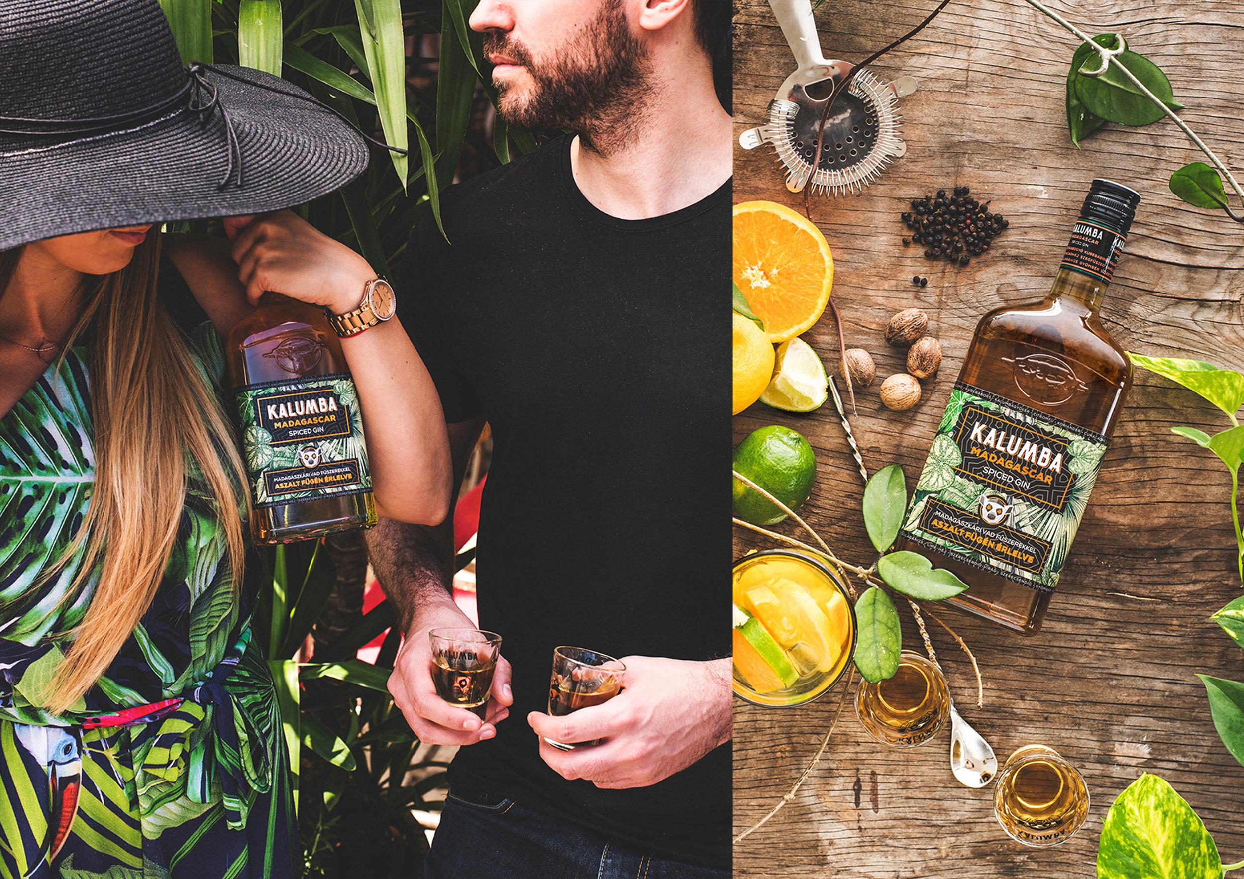 Kalumba Madagascar Spiced Gin Brand Design / World Brand and Packaging Design Society