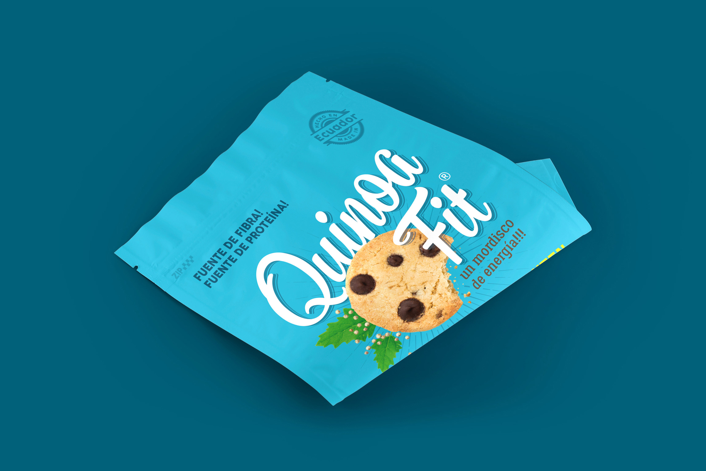 New Look for Quinoa Fit Cookies Brand Design / World Brand and Packaging Design Society
