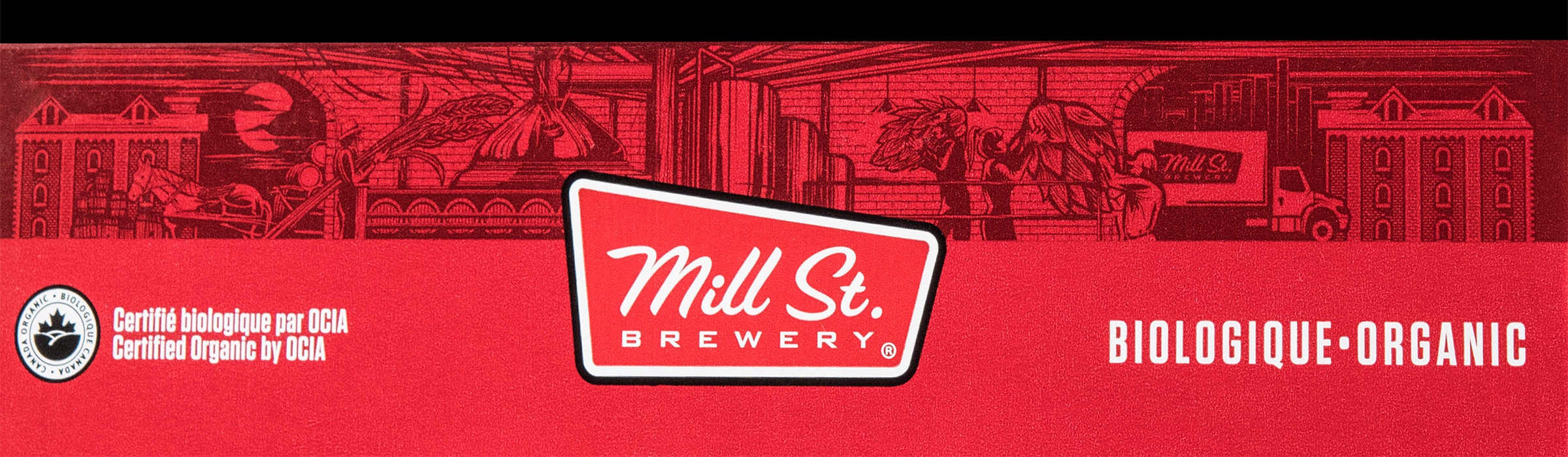 Mill St. Brewing Rebrand by Hired Guns Creative / World Brand and Packaging Design Society
