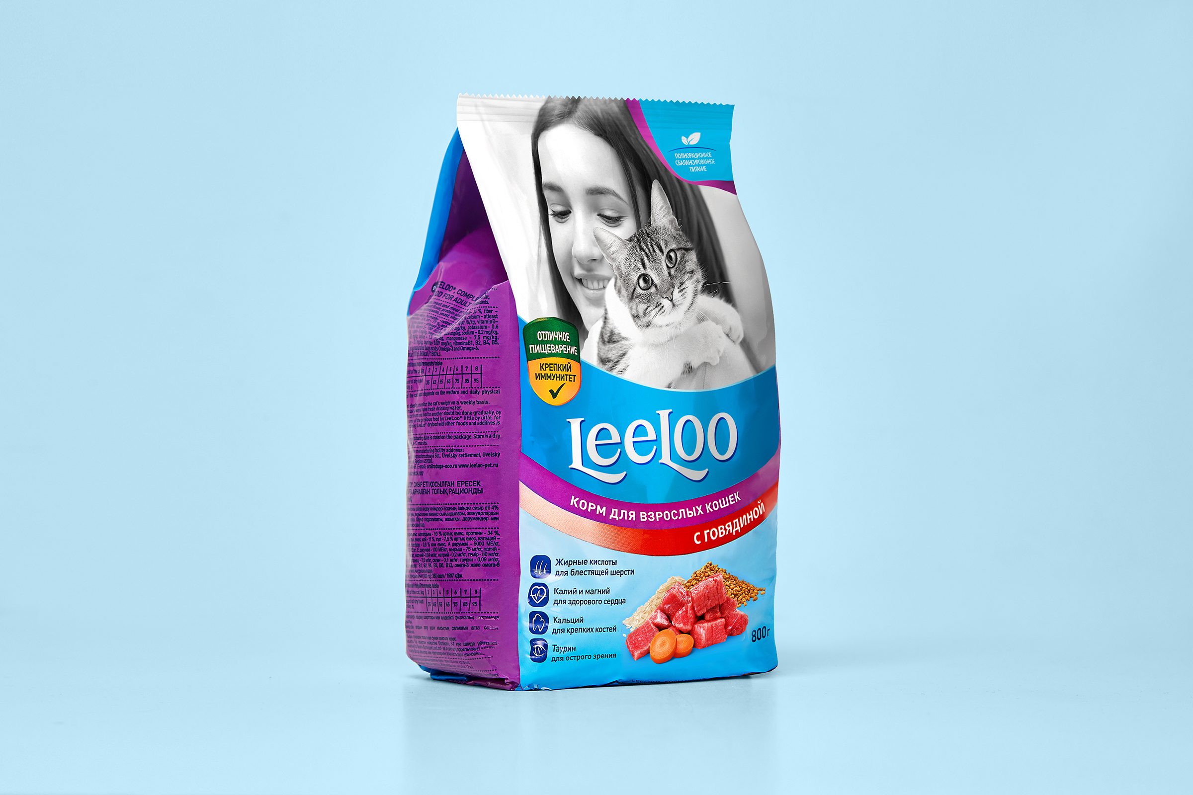 LeeLoo Cat Food with Package Design by Fabula Branding / World Brand and Packaging Design Society