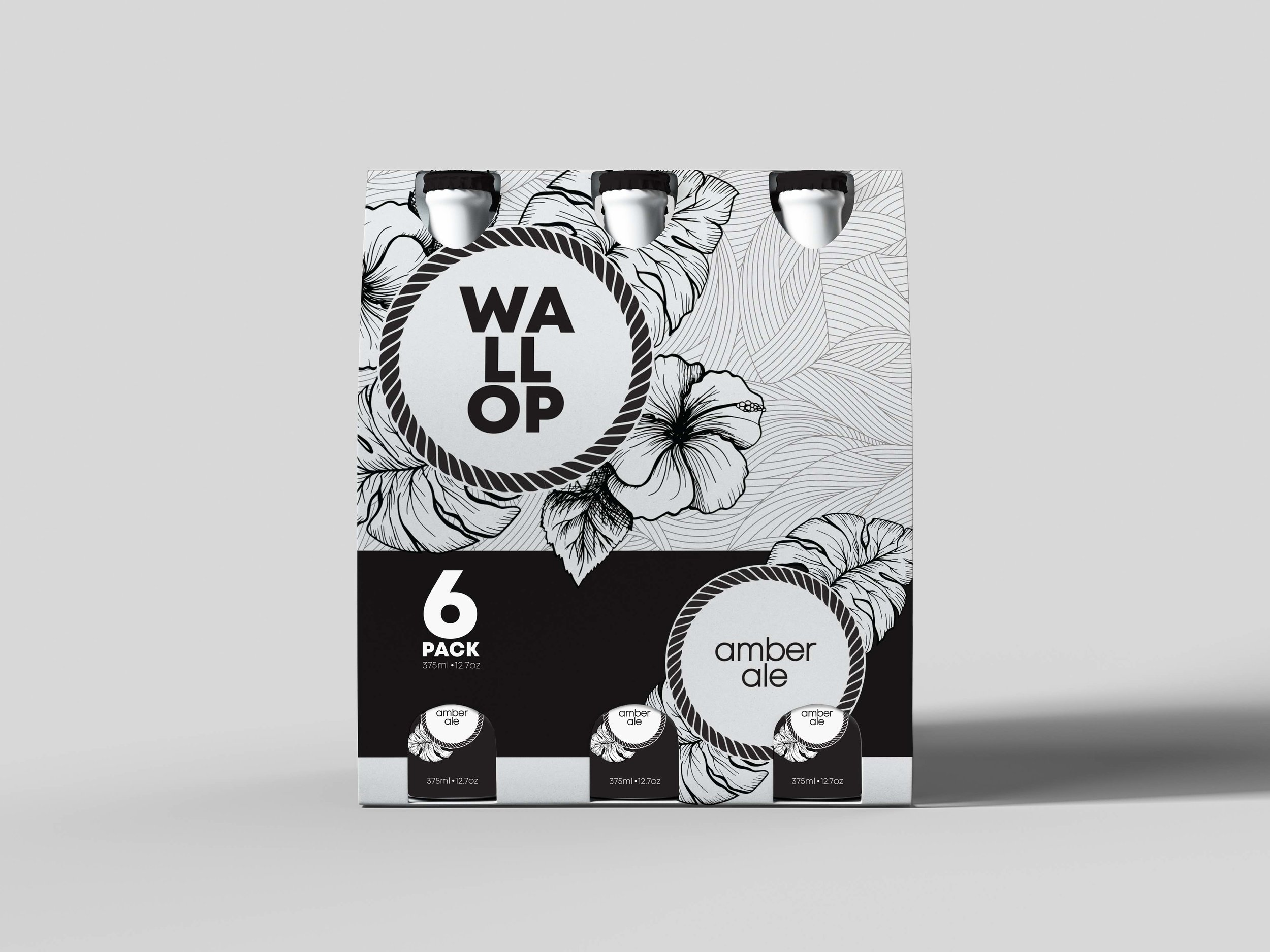 Modern Packaging Design for a Beer Company / World Brand and Packaging Design Society