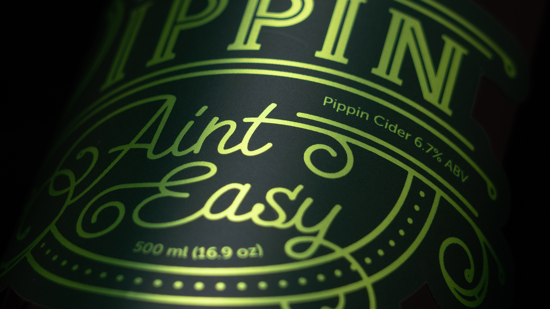 A Serious Dry Cider for Not So Serious People / World Brand and Packaging Design Society