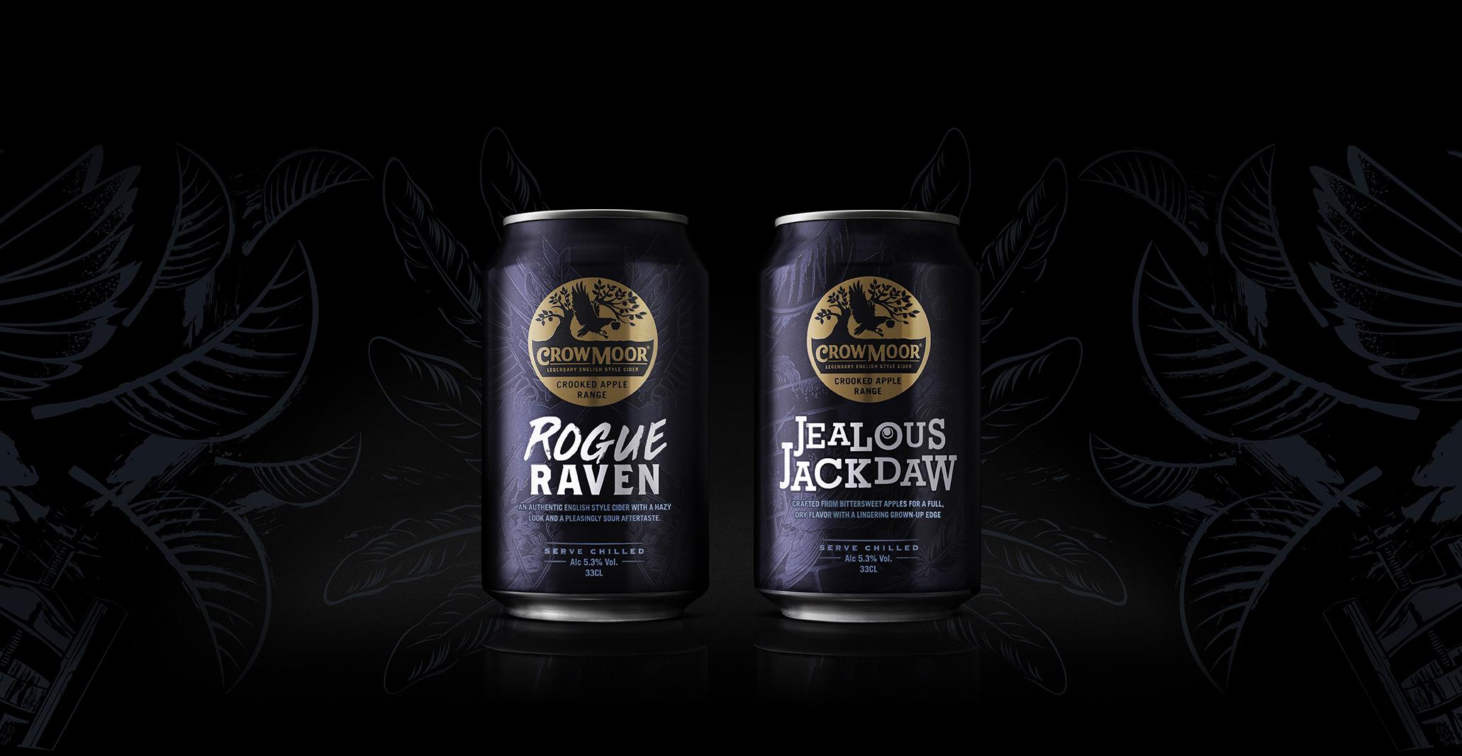 Bluemarlin's Legendary Rebrand of Crowmoor Cider / World Brand and Packaging Design Society