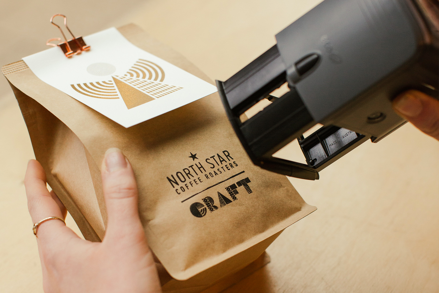 Wake Up and Smell the Craft Coffee this Christmas / World Brand Design Society