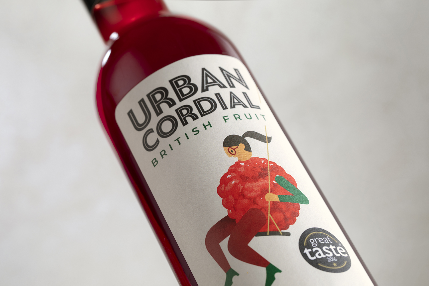 Jackdaw Design Delivers a Brand Identity With a Unique Fruity Twist for Urban Cordial / World Brand Design Society