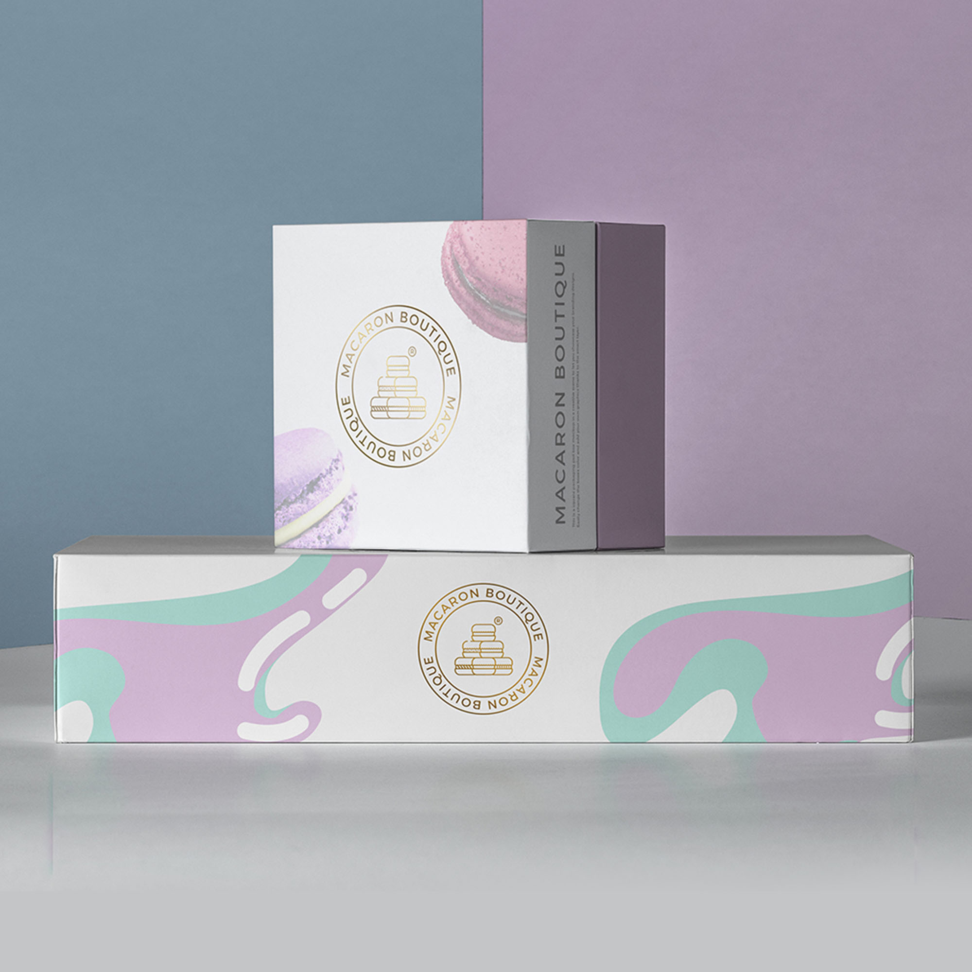 Stationery Design for Macaron Boutique Patisserie / World Brand Design Society