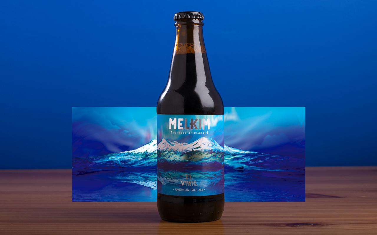 Branding and Packaging Design for Artesanal Beer from Arequipa - Melkim / World Brand Design Society