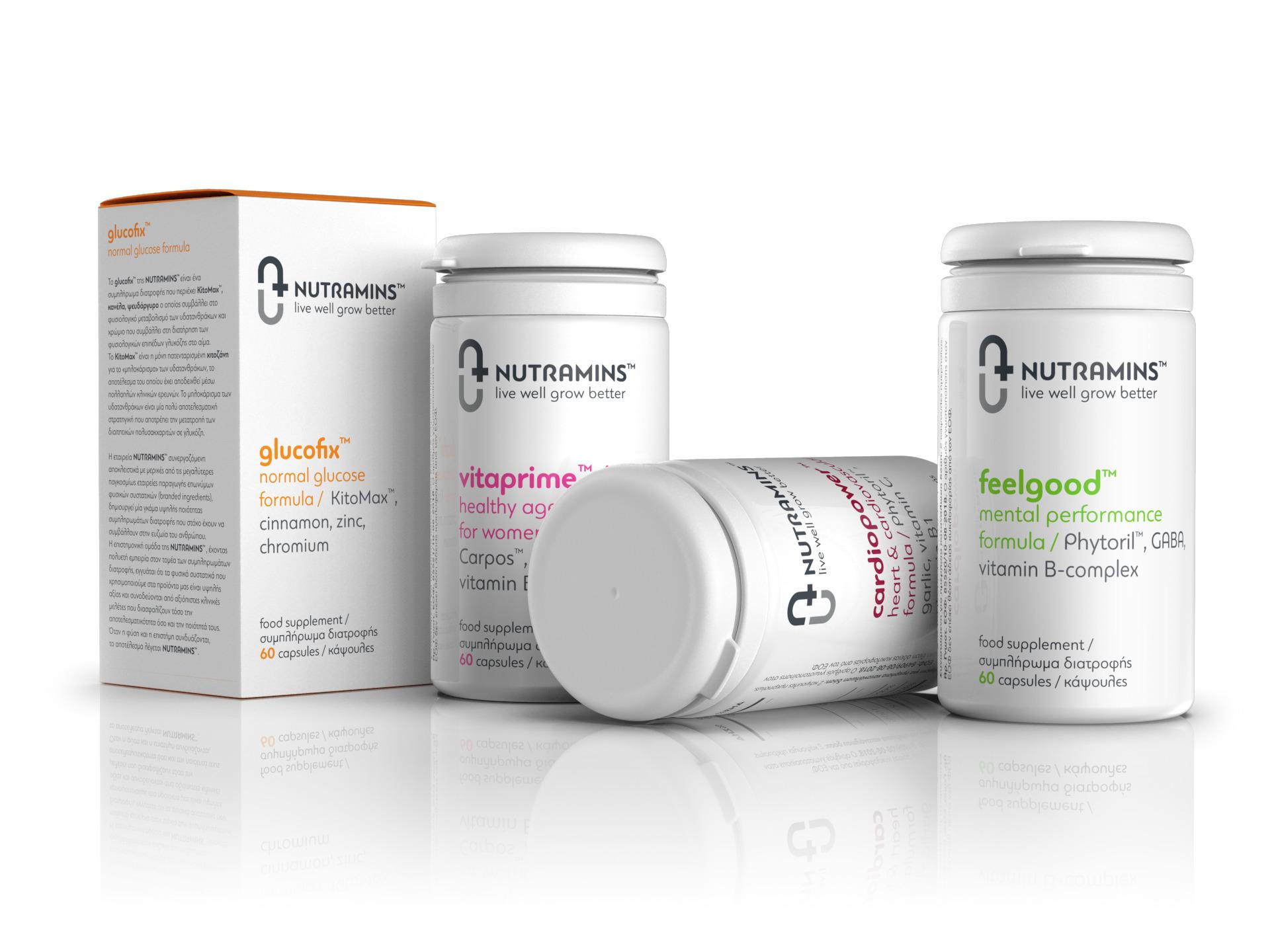 Nutramins™ Live Well Grow Better / World Brand Design Society