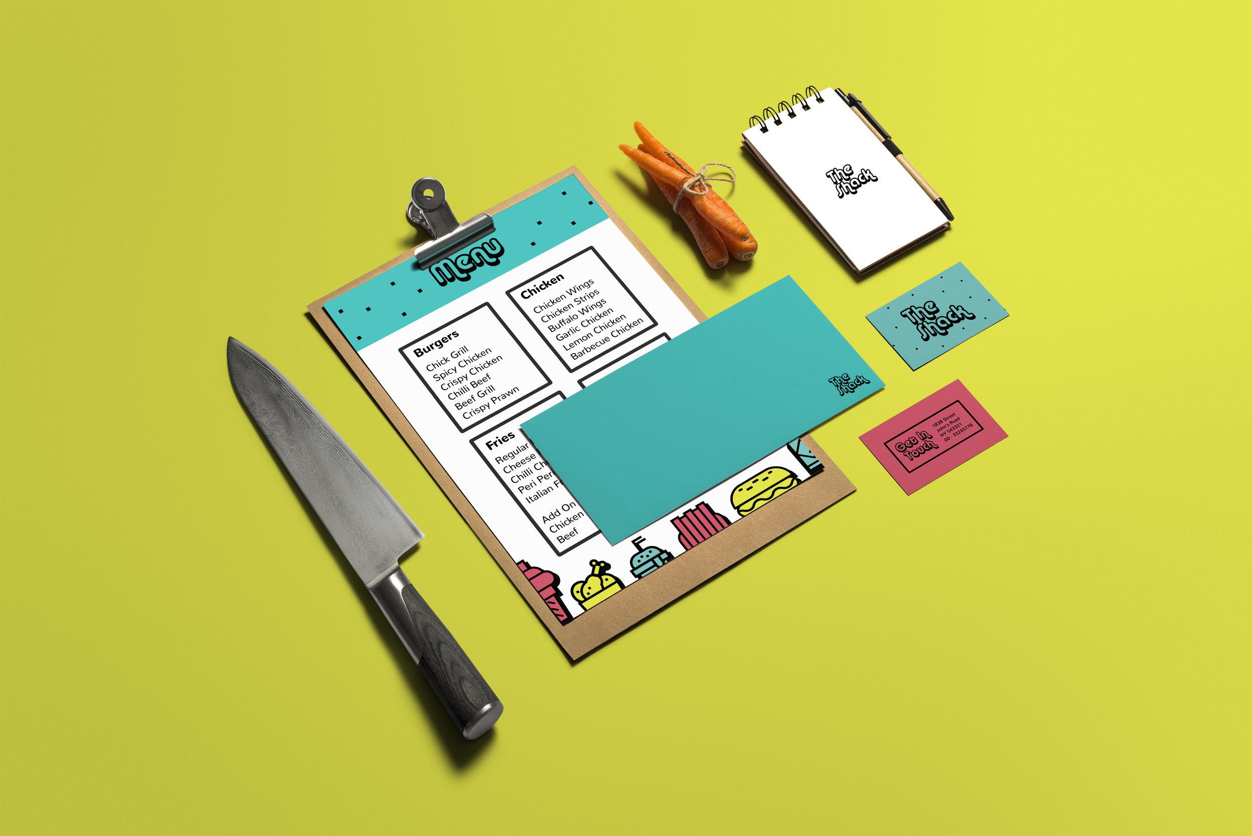 The Shack Burger Joint Branding / World Brand Design Society