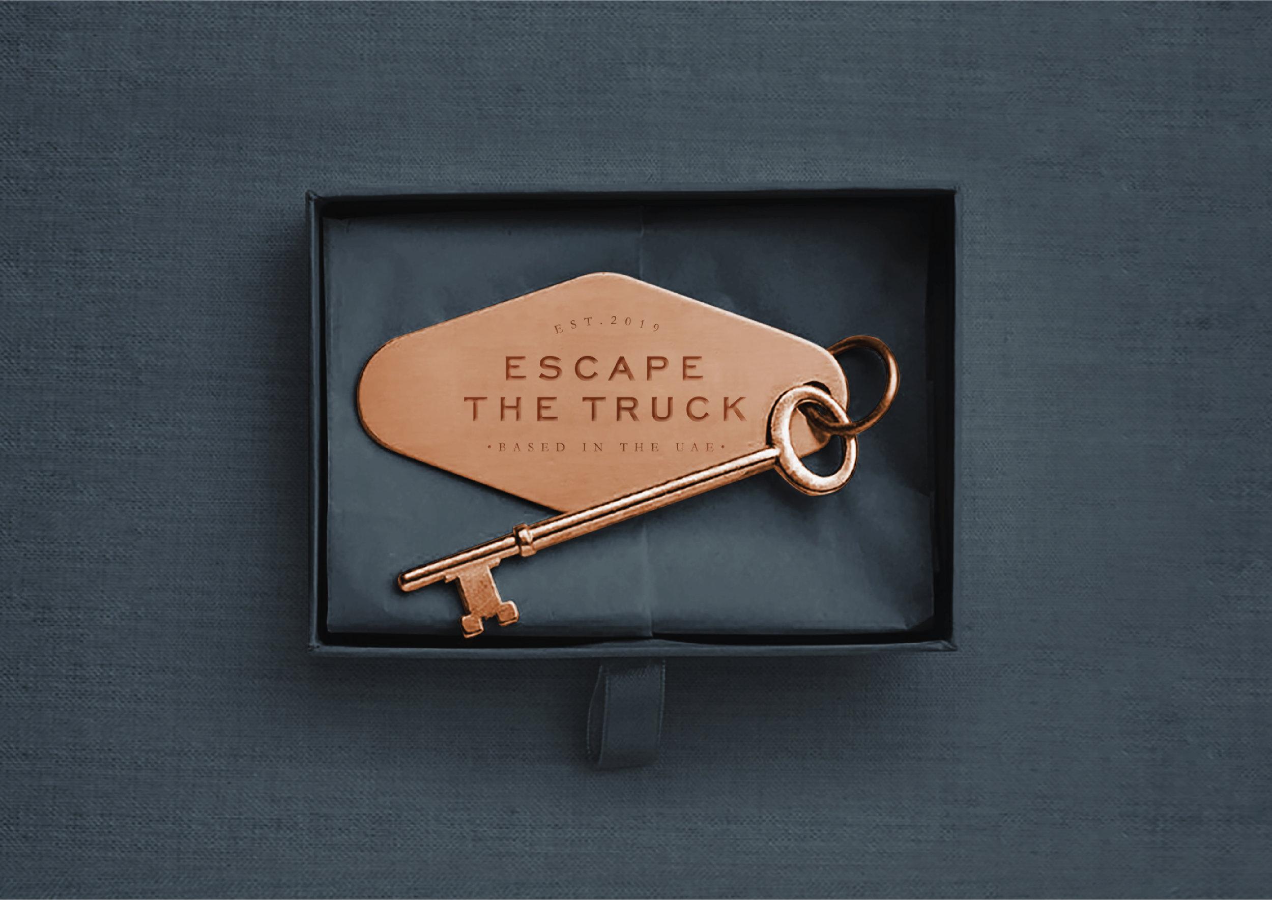 Escape Room Branding from Dubai / World Brand Design Society