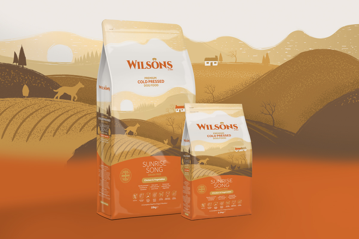 Brand and Pet Food Packaging Redesign / World Brand Design Society