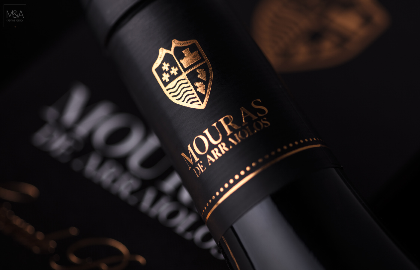 """A Label that Tells the History of a """"Grande Reserva"""" from Alentejo / World Brand Design Society"""