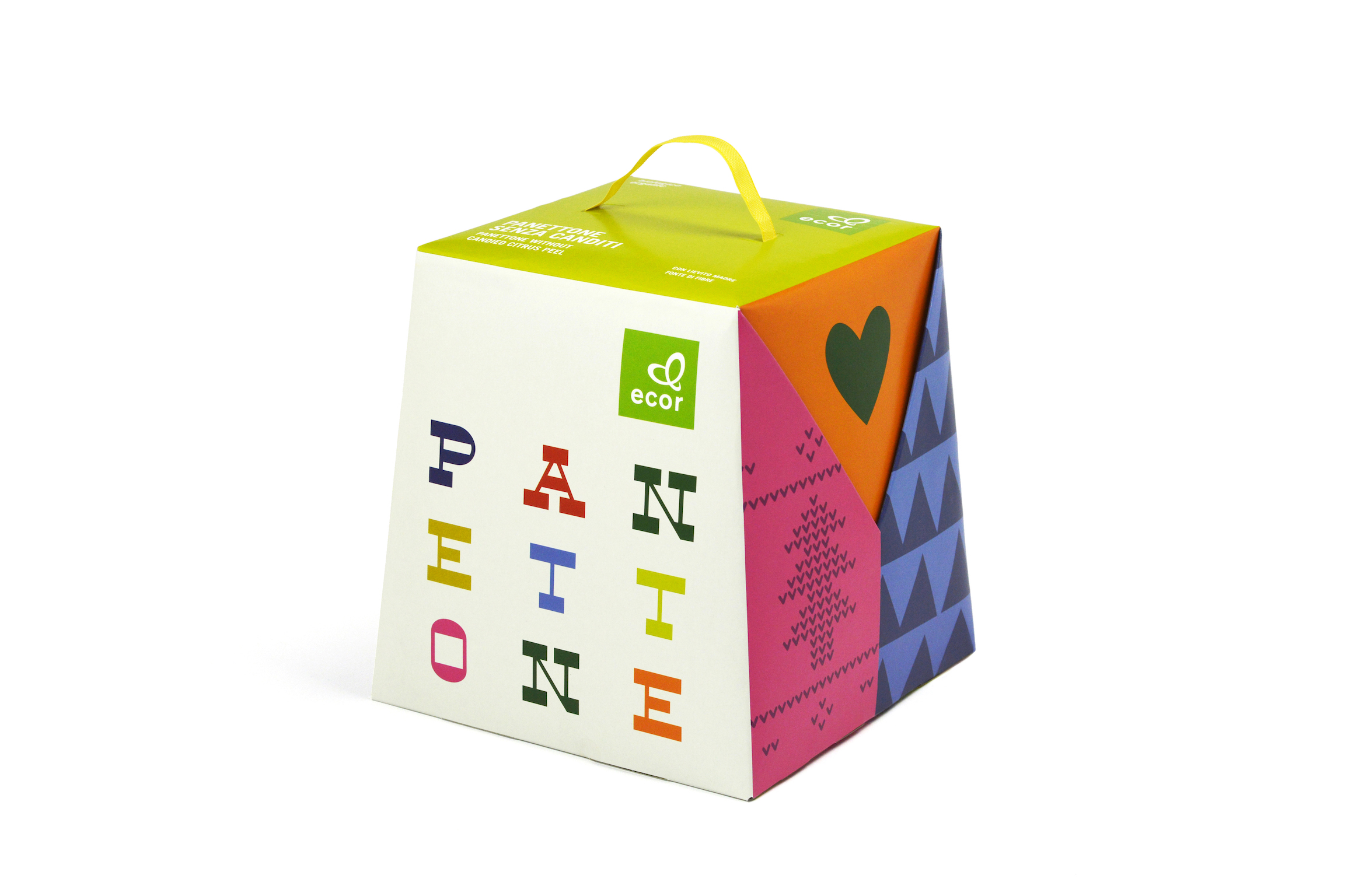 Ecor Panettone and Pandoro Packaging / World Brand Design Society