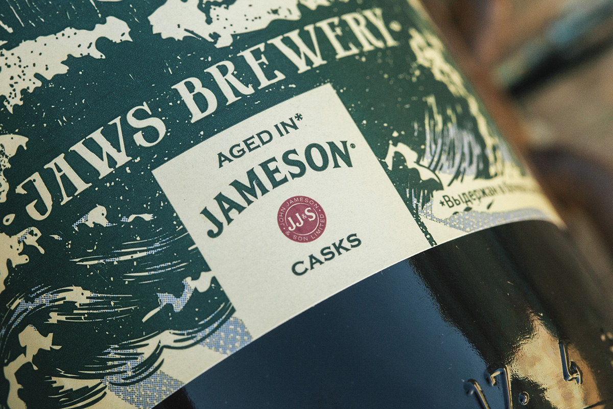 Jaws Brewery and Jemeson Packaging Design / World Brand Design Society