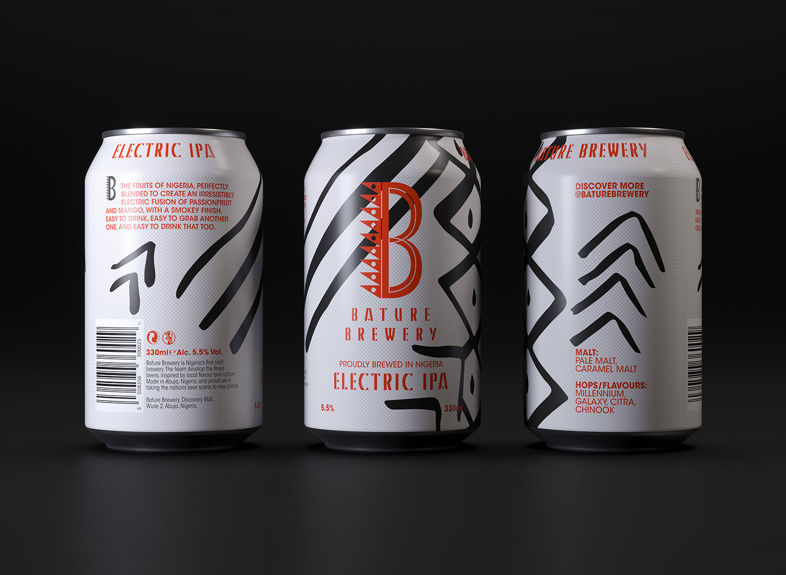 Limited Edition Can Range for Nigeria's First Craft Brewery / World Brand Design Society