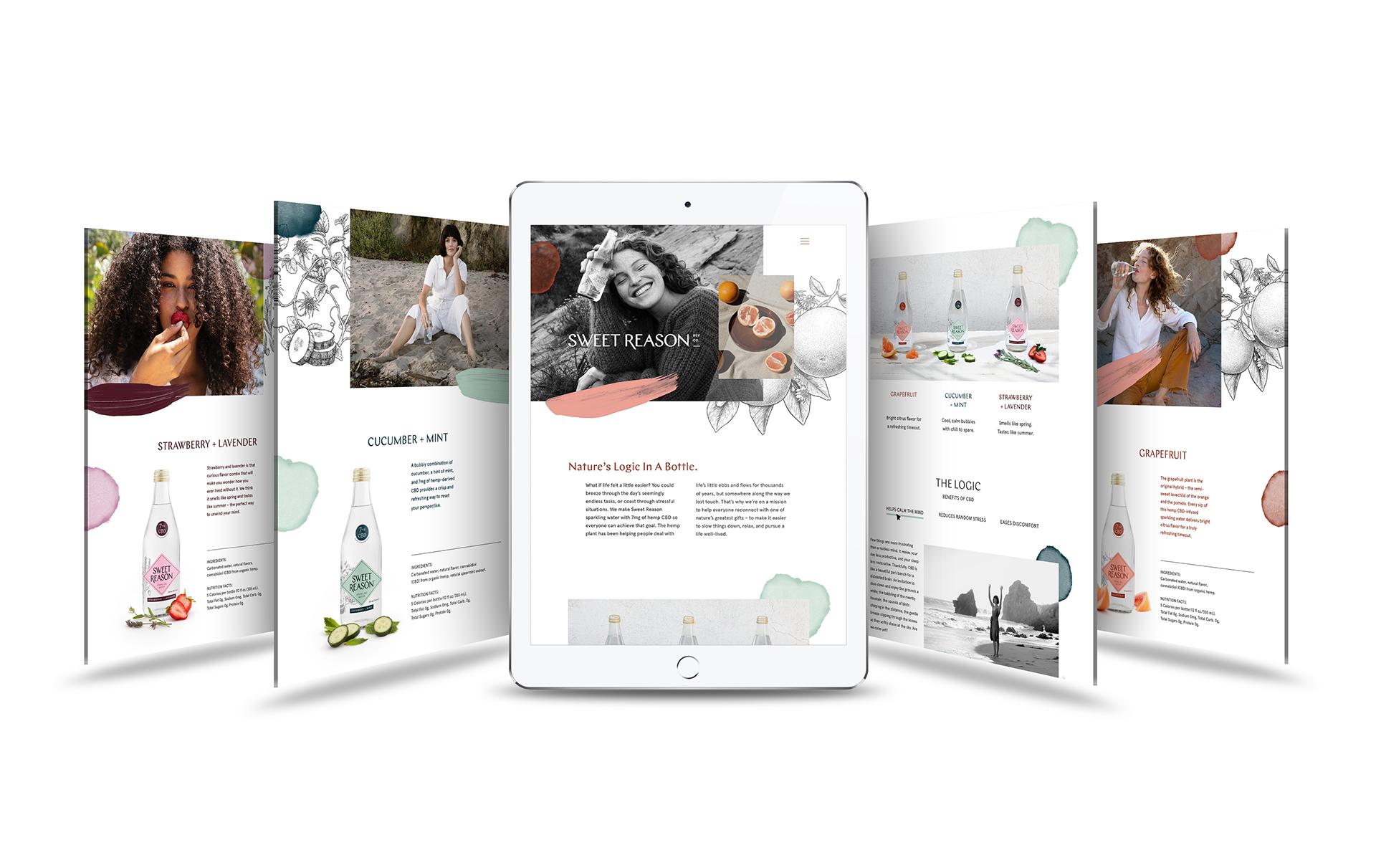 Sweet Reason Bev Co. Brand Creation / World Brand Design Society