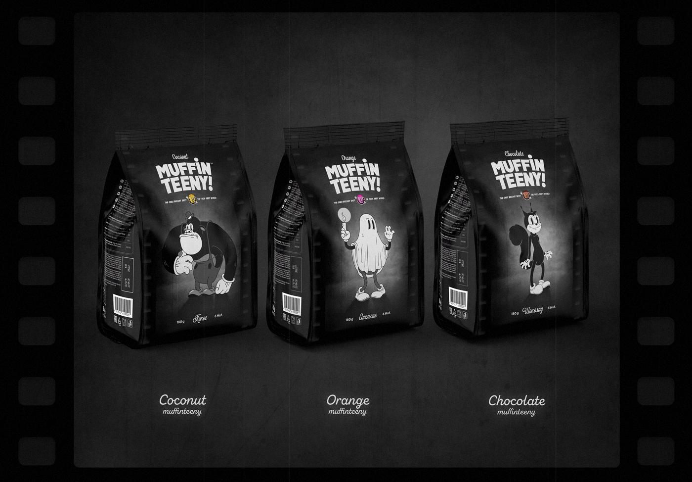 MuffinTeeny Muffins Brand Design / World Brand Design Society