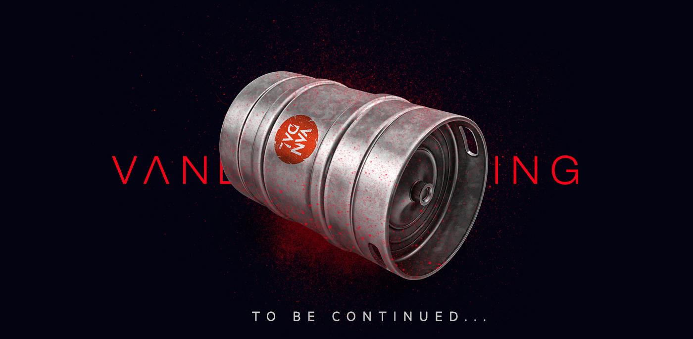 Vandal Brewing Packaging Design / World Brand Design Society