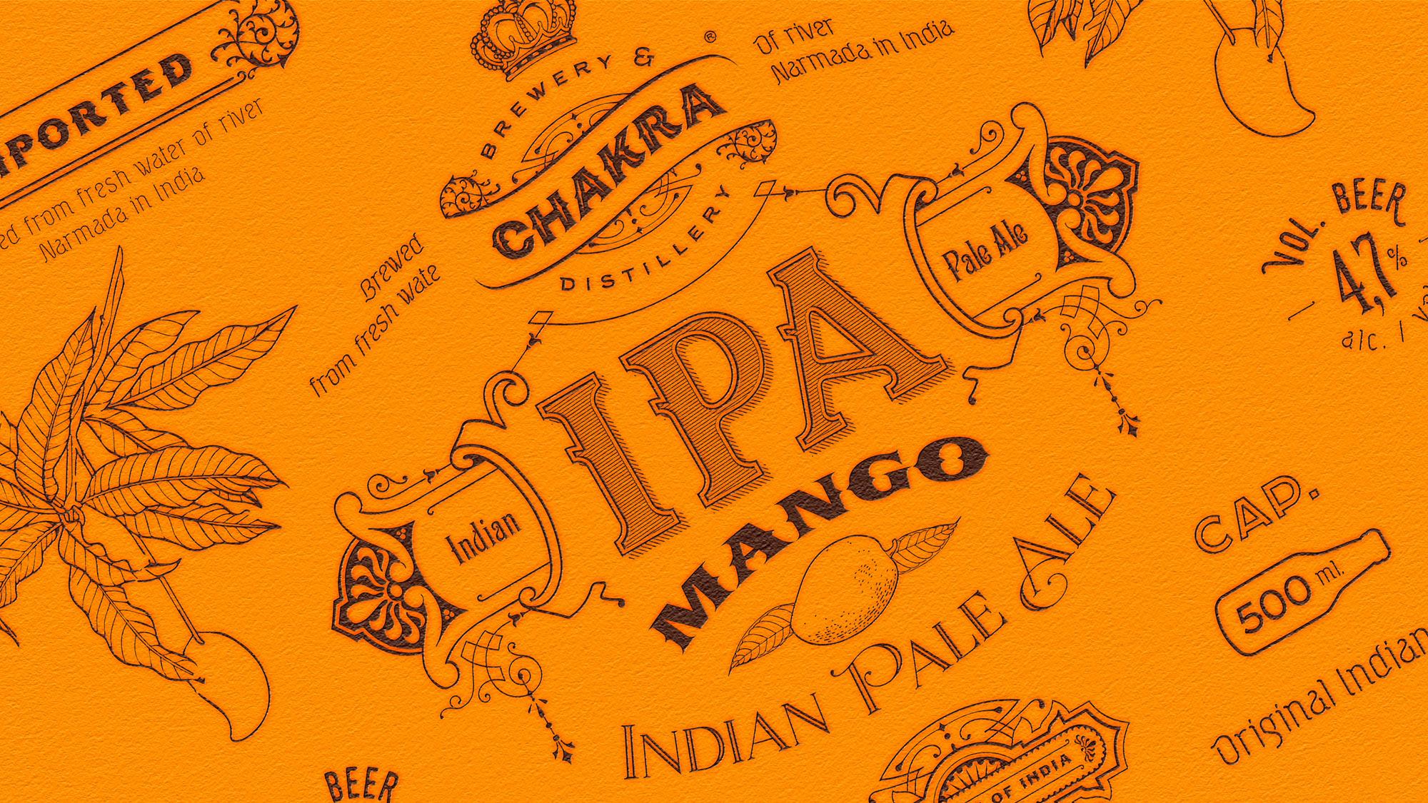 CHAKRA IPA Mango Packaging Design for CHAKRA NORWAY AS / World Brand Design Society