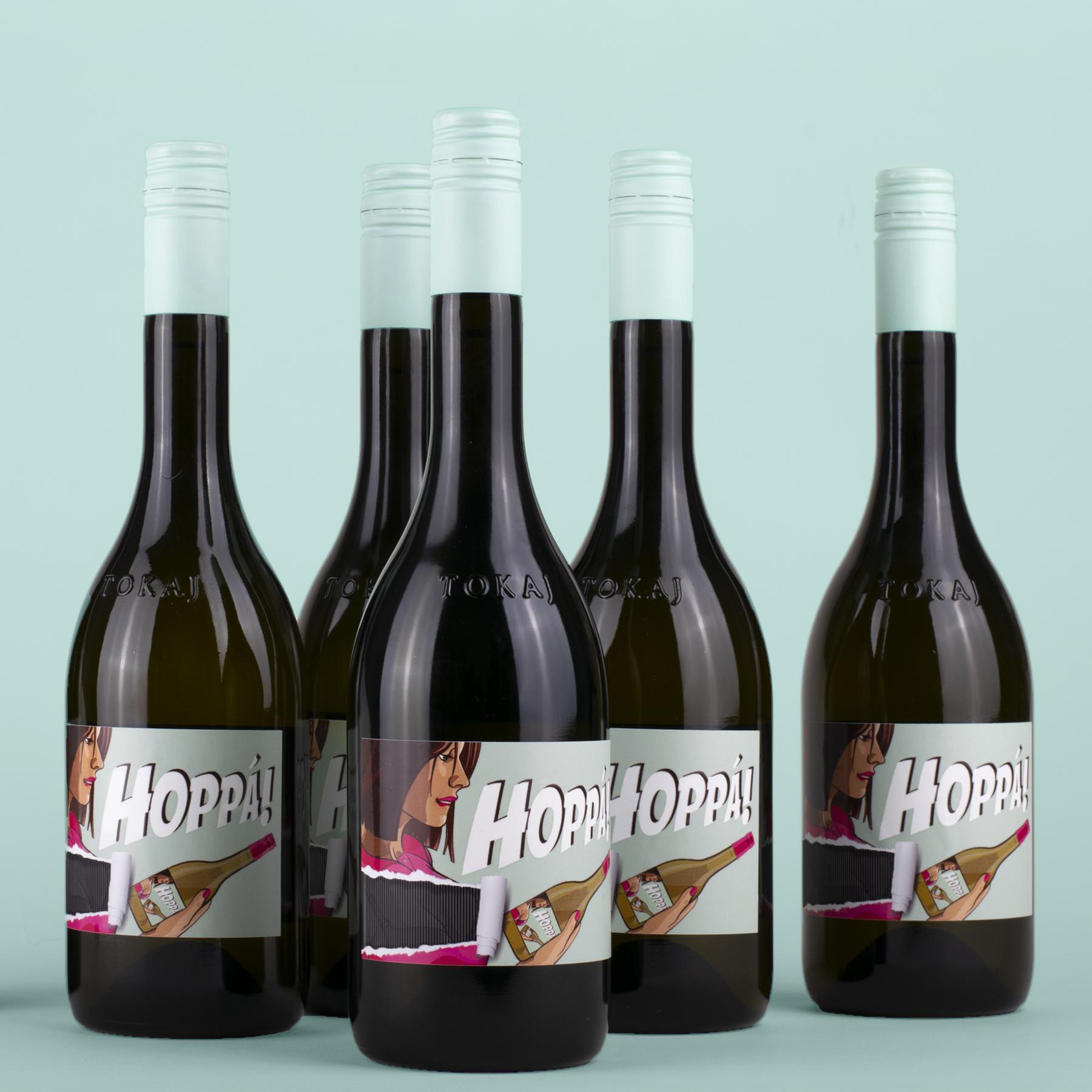 Unique Label Design for a Hungarian Wine / World Brand Design Society